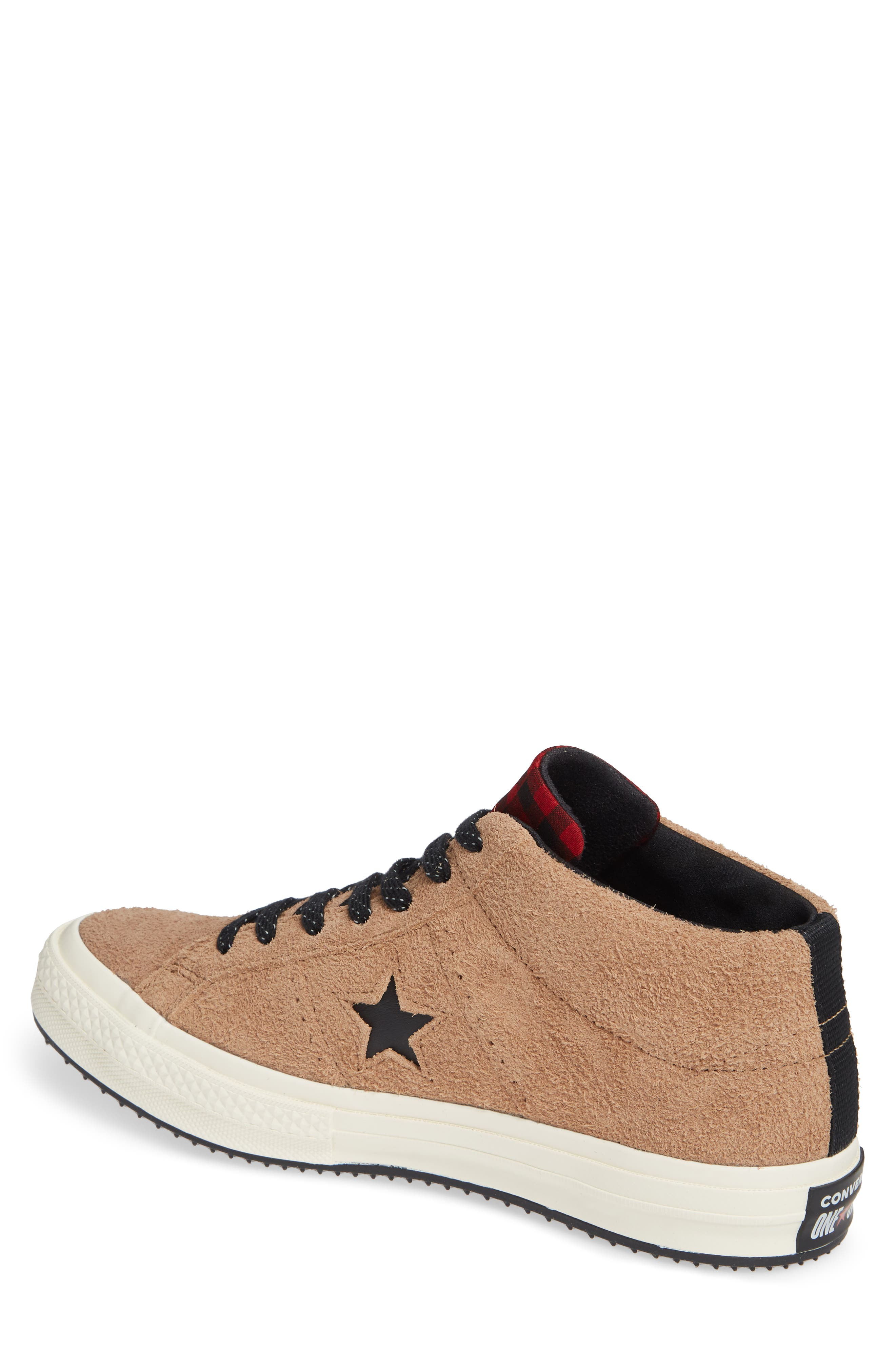 One Star Climate Counter Mid Top Sneaker,                             Alternate thumbnail 2, color,                             FIELD SURPLUS SUEDE