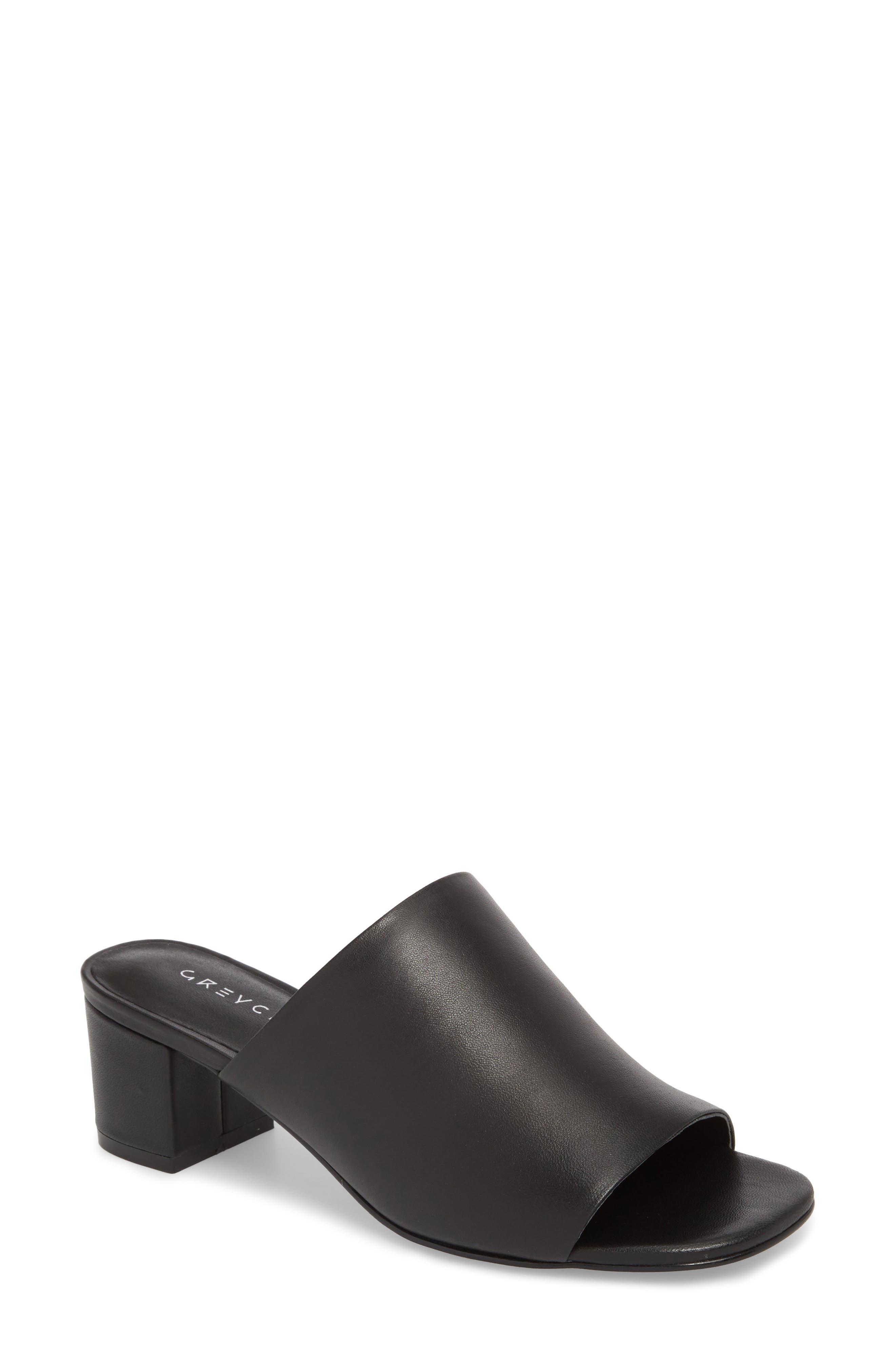 Carmen Slide Sandal,                         Main,                         color, 001