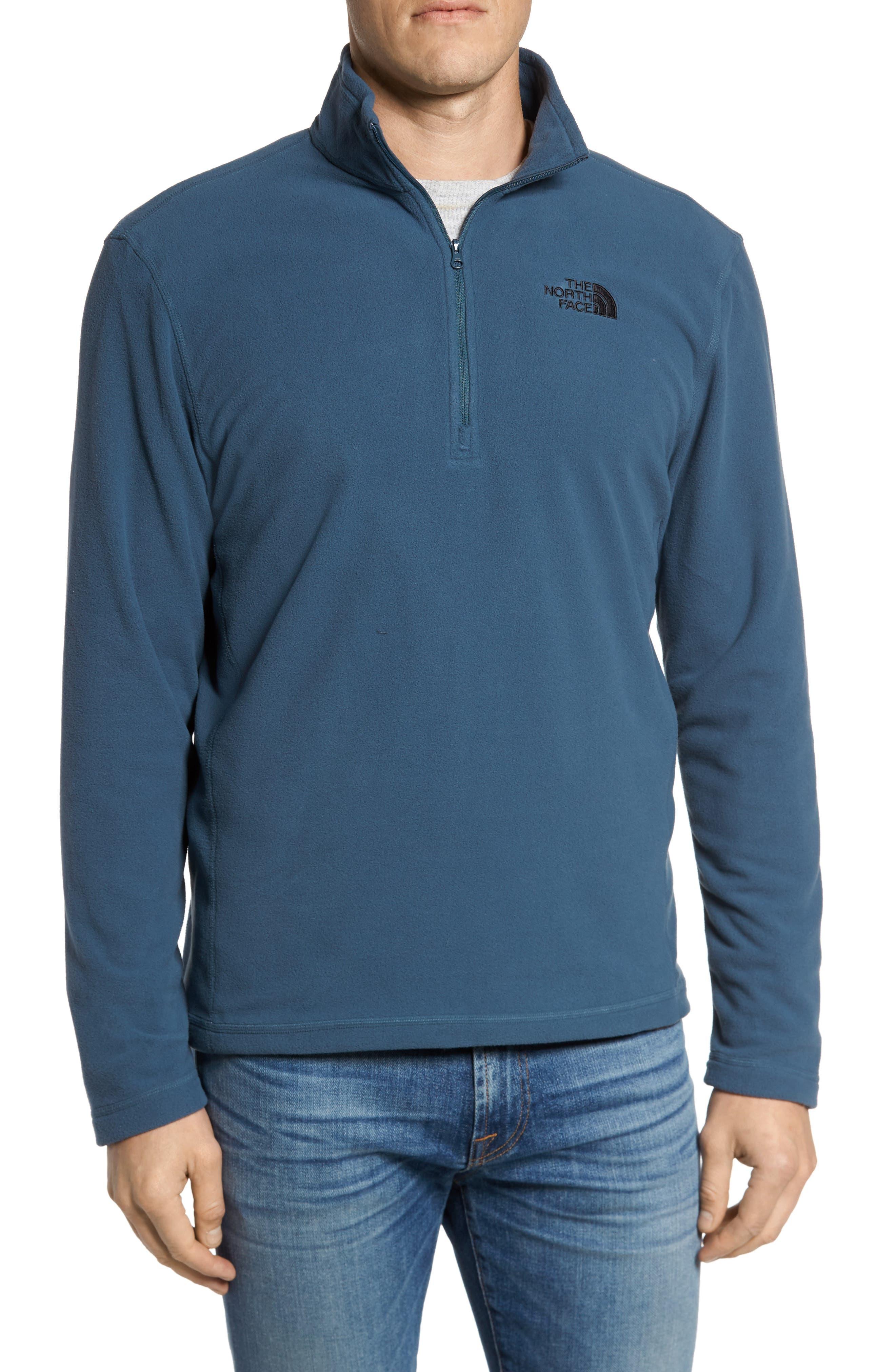 'TKA 100 Glacier' Quarter Zip Fleece Pullover,                             Alternate thumbnail 52, color,