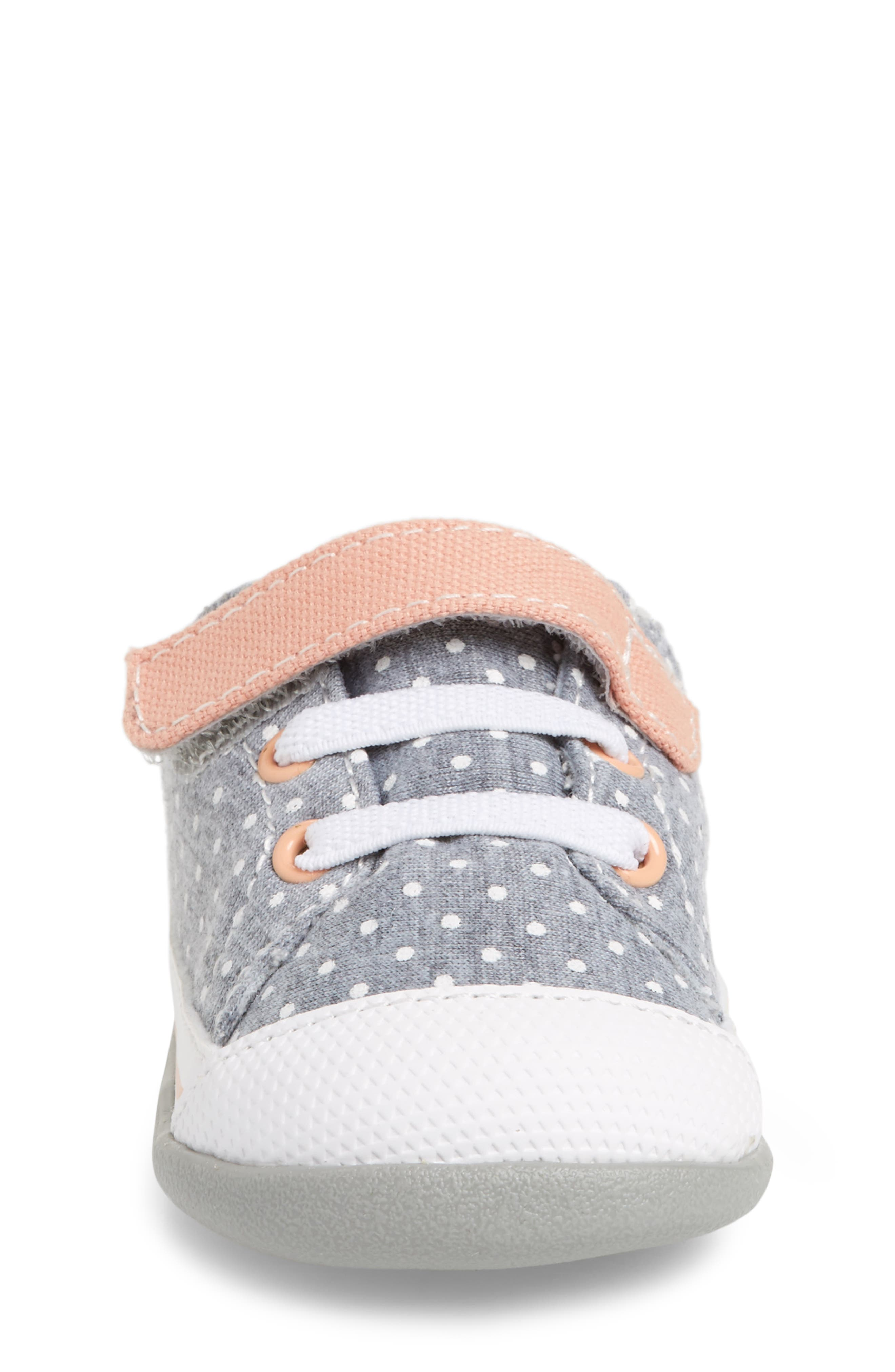 Stevie II Sneaker,                             Alternate thumbnail 4, color,                             JERSEY DOTS