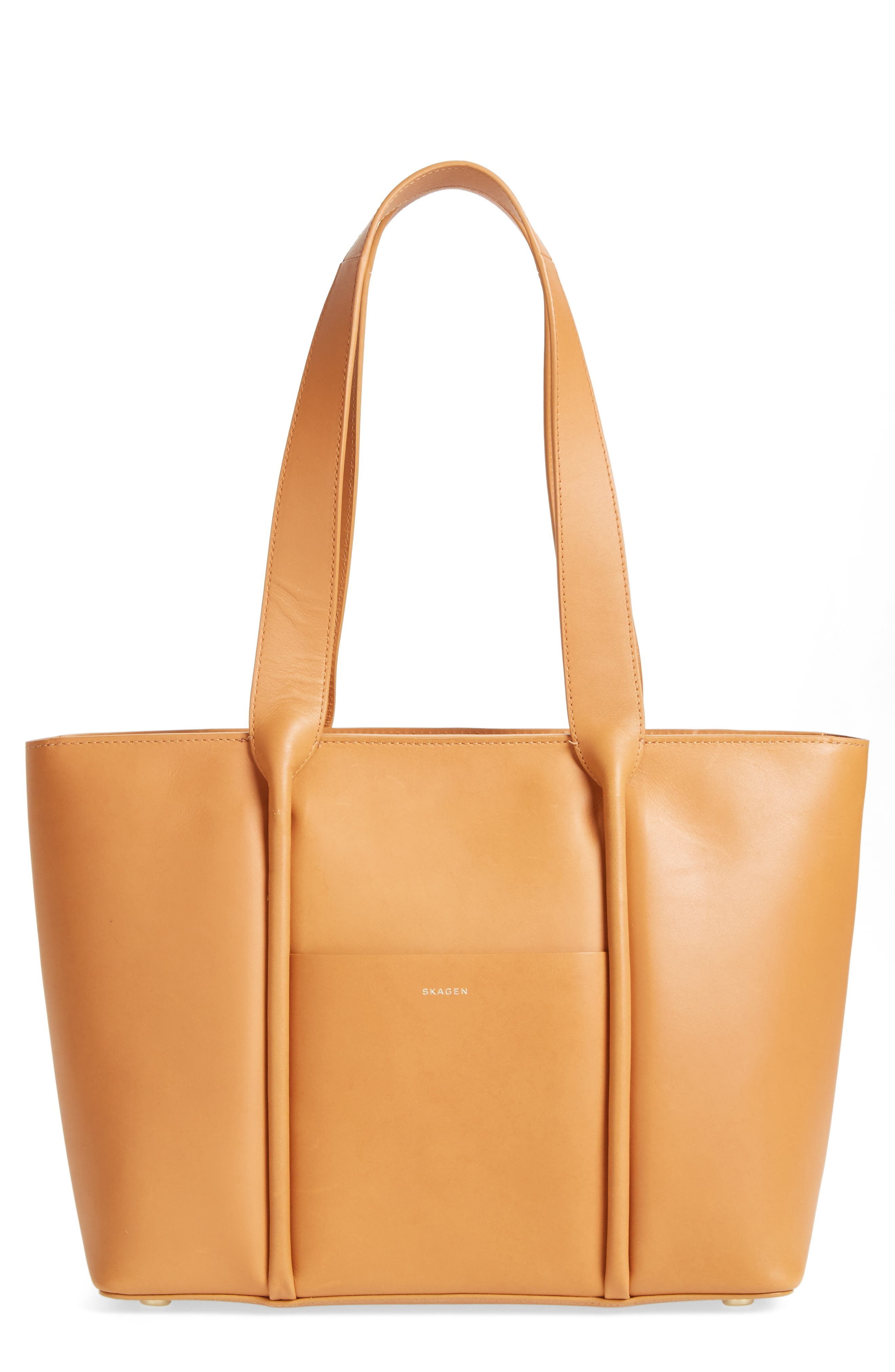 Lisabet Leather Tote,                         Main,                         color, 250