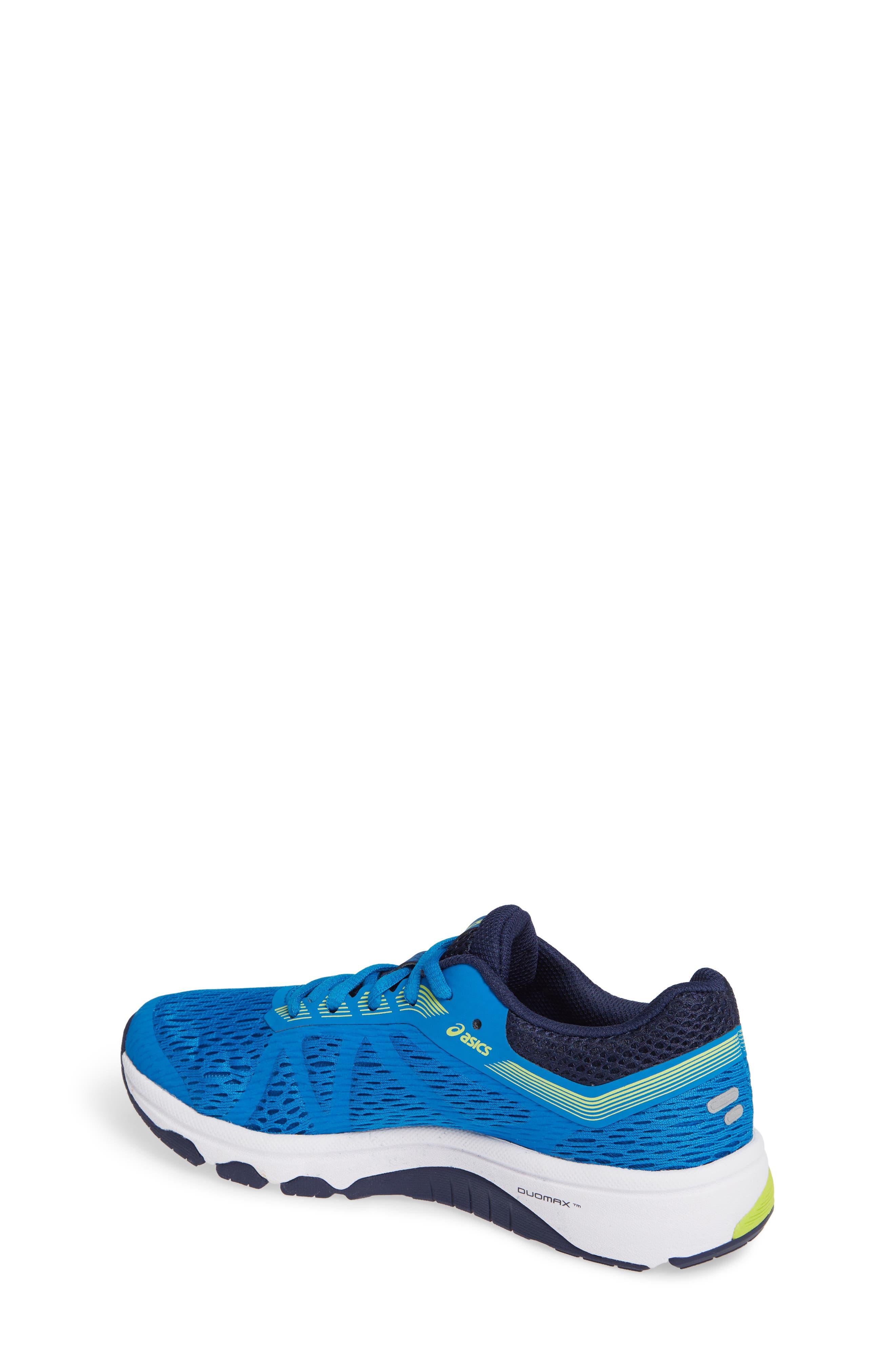 GT 1000 7 Running Shoe,                             Alternate thumbnail 2, color,                             RACE BLUE/ NEON LIME