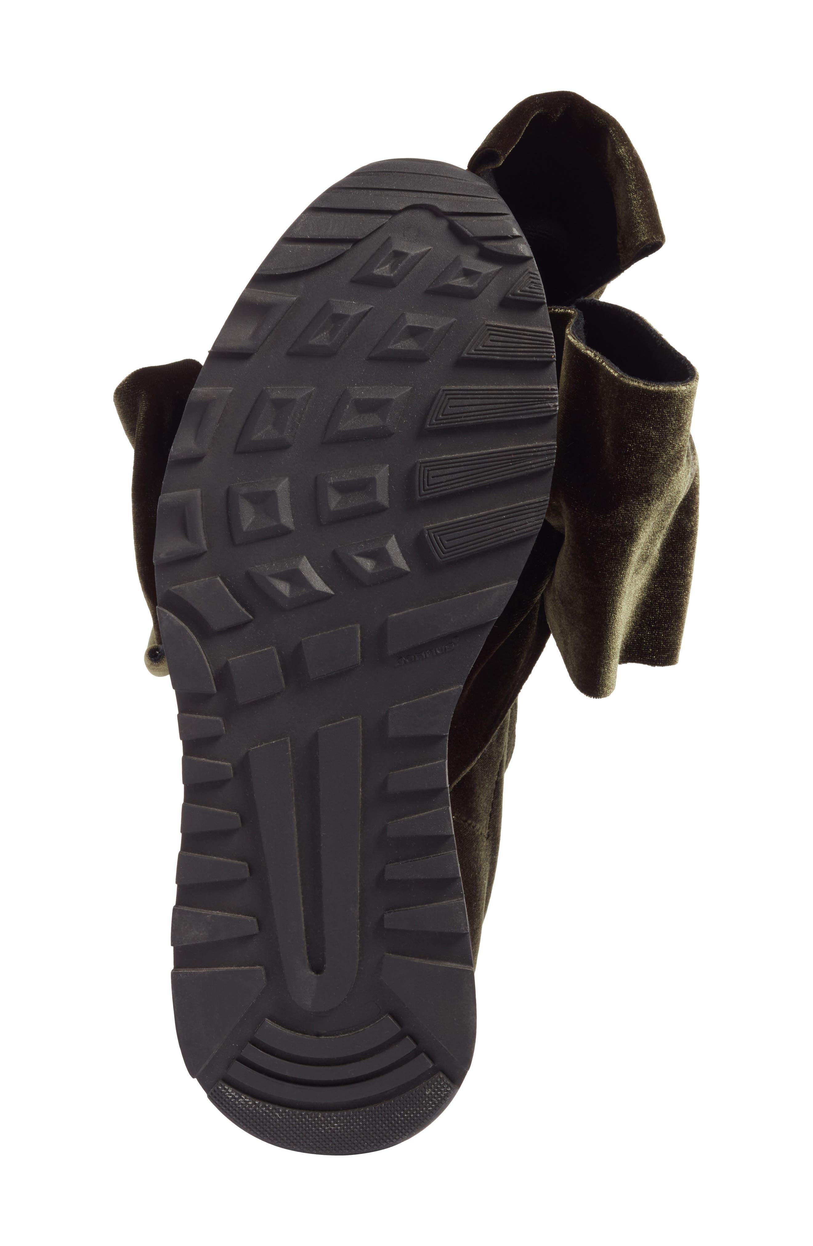 Knotted Slip-On Sneaker,                             Alternate thumbnail 6, color,                             300