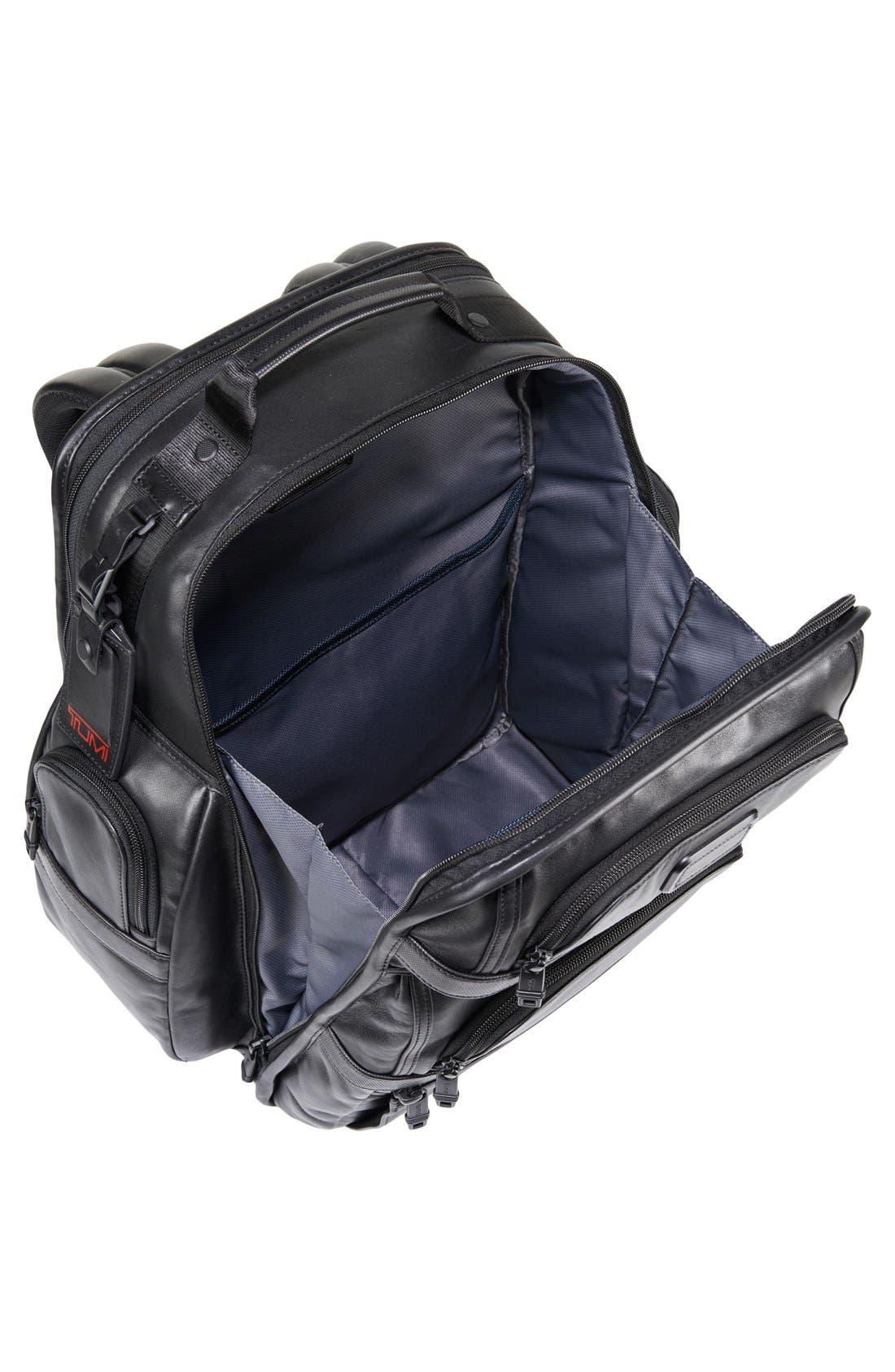 Alpha 2 T-Pass<sup>®</sup> Leather Brief Pack<sup>®</sup>,                             Alternate thumbnail 3, color,                             007