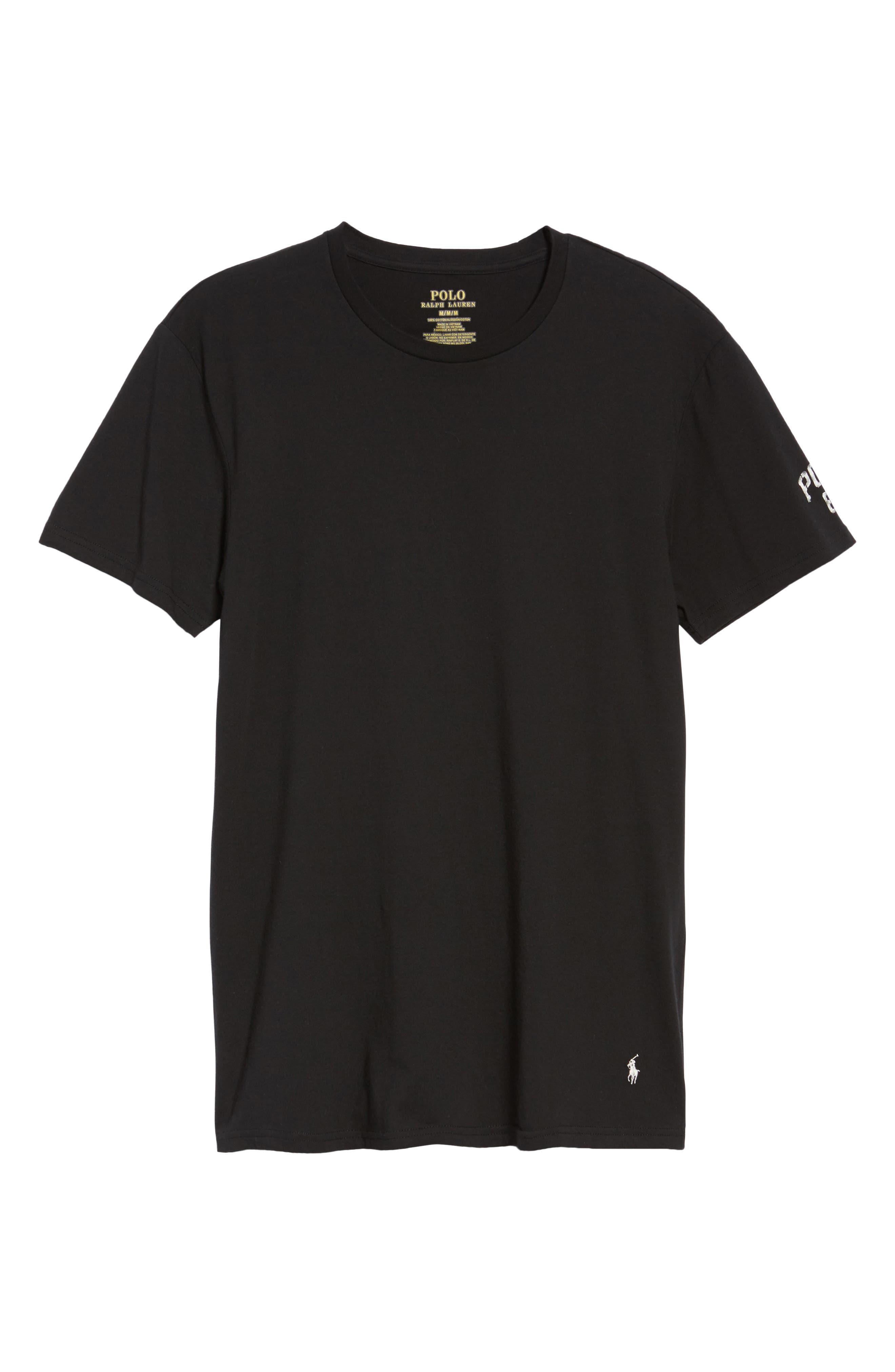 Crewneck T-Shirt,                             Alternate thumbnail 6, color,                             013
