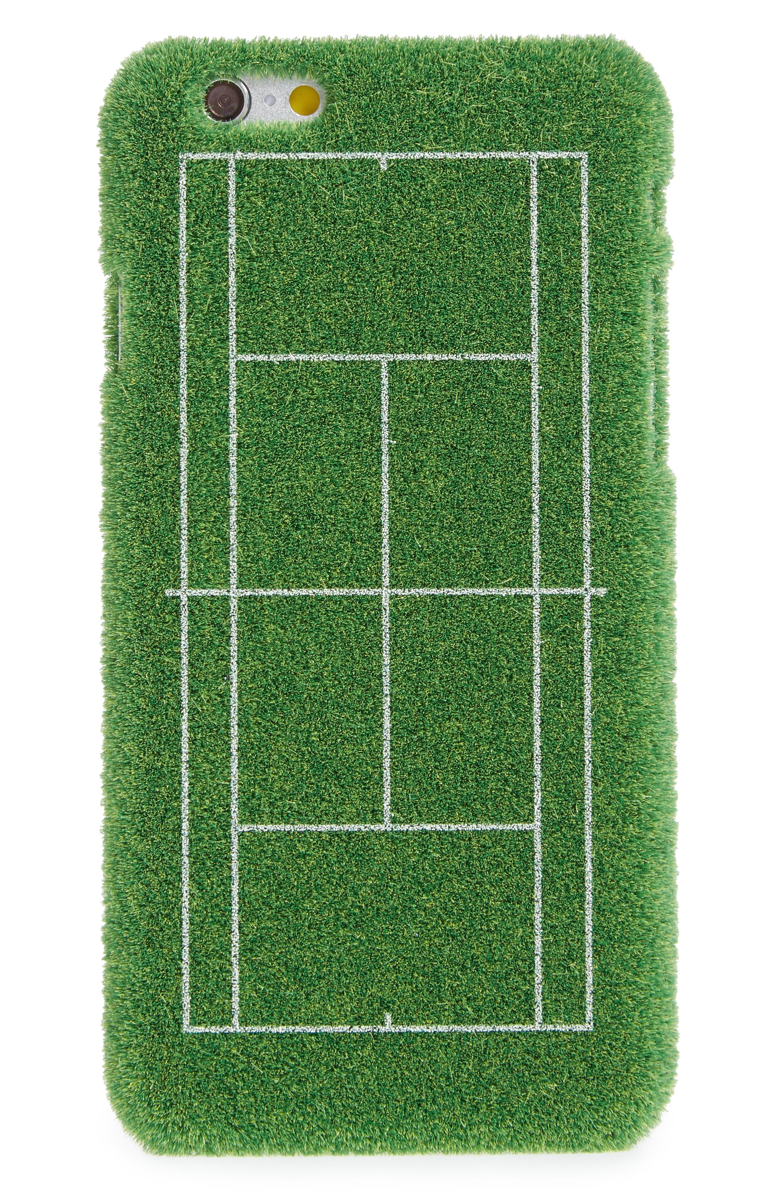 Grand Slam Portable Park iPhone 6/6s & 6/6s Plus Case,                             Alternate thumbnail 3, color,                             GREEN