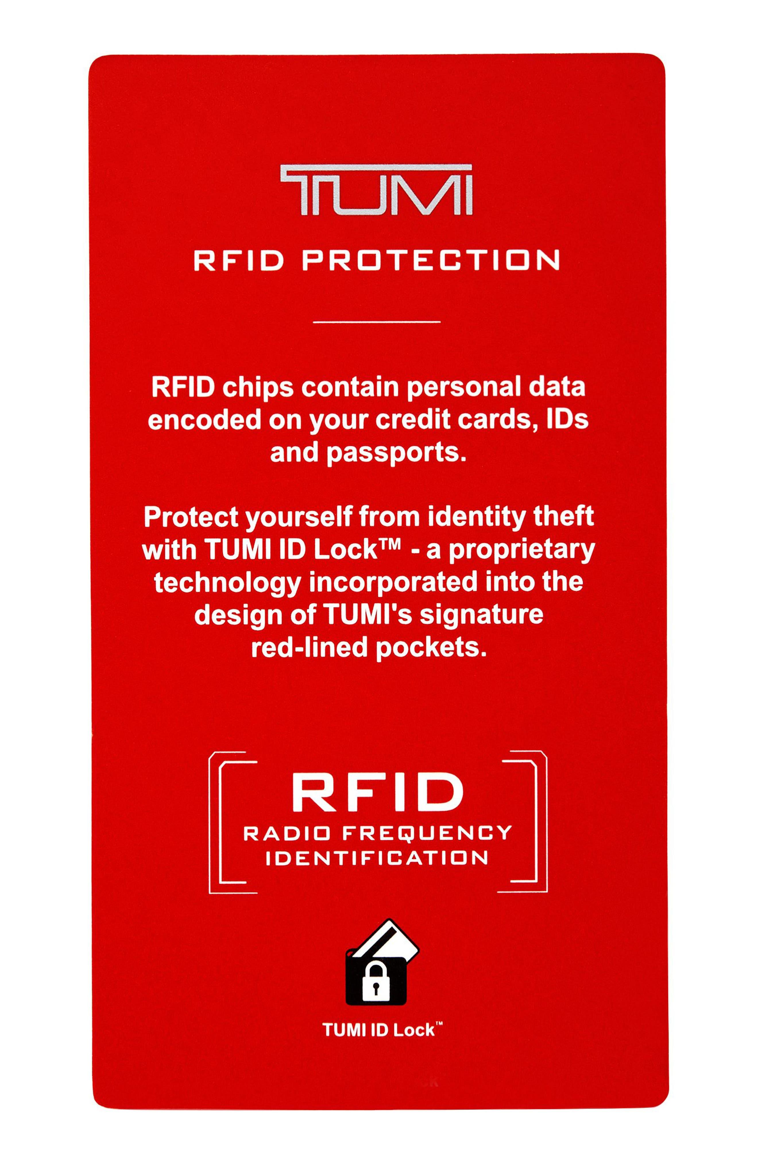 Monaco Leather RFID Money Clip Card Case,                             Alternate thumbnail 3, color,                             020