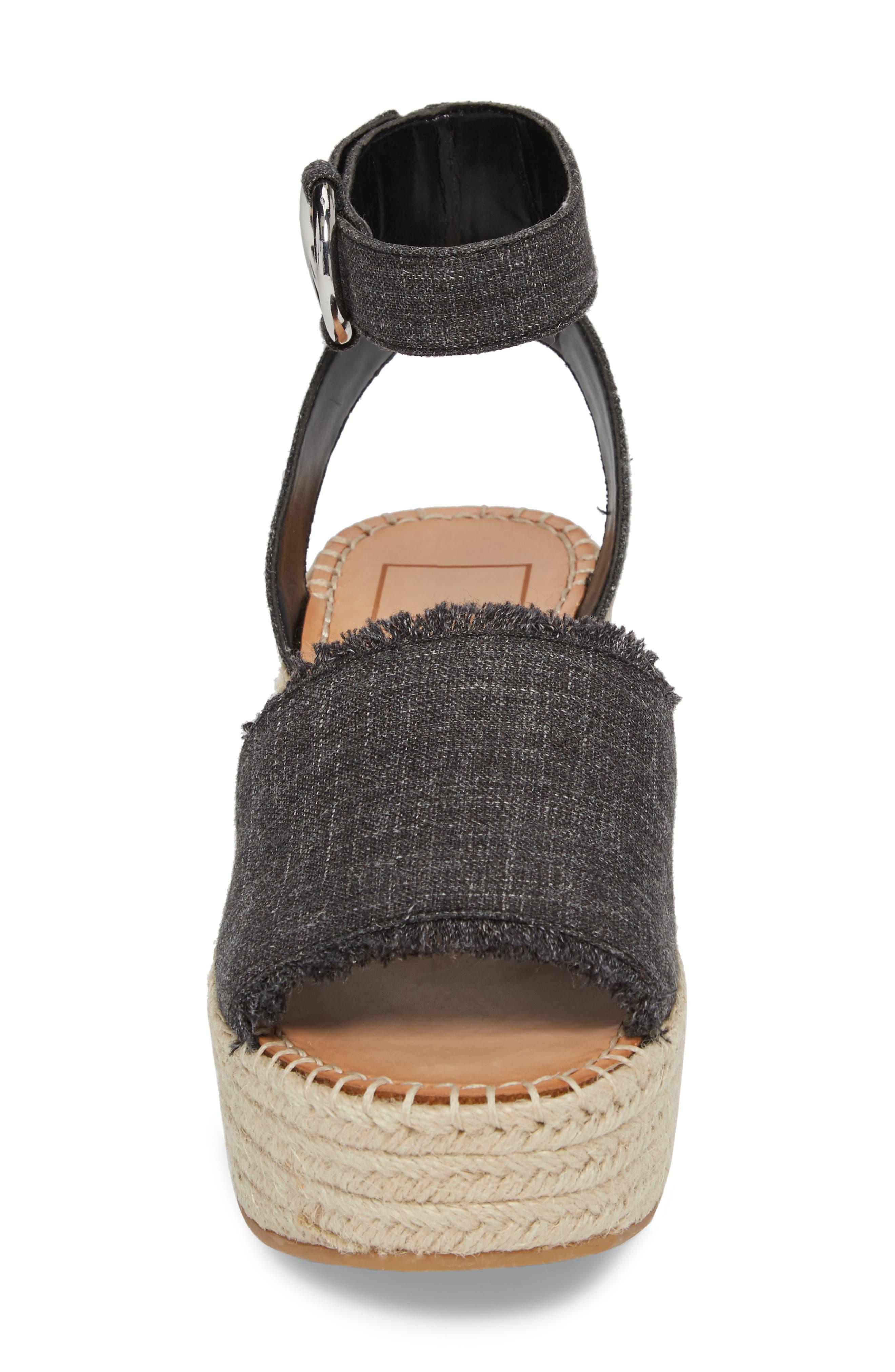 Lesly Espadrille Platform Sandal,                             Alternate thumbnail 23, color,