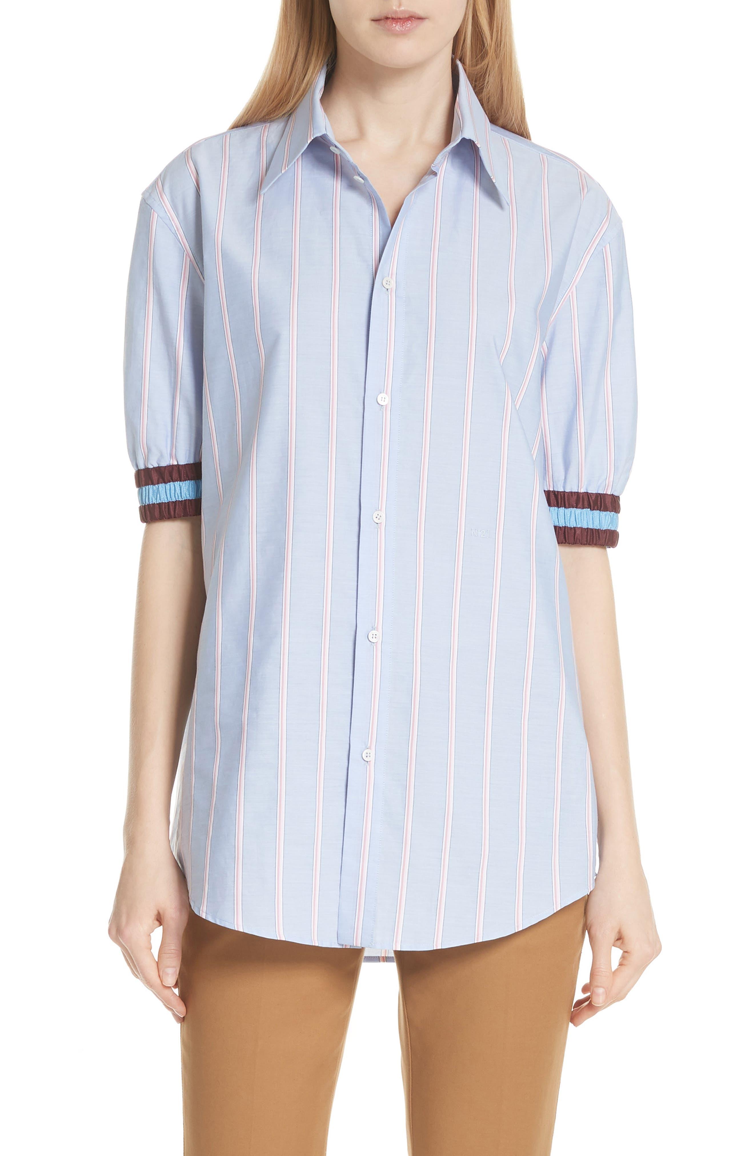 N?21 Stripe Cotton Shirt