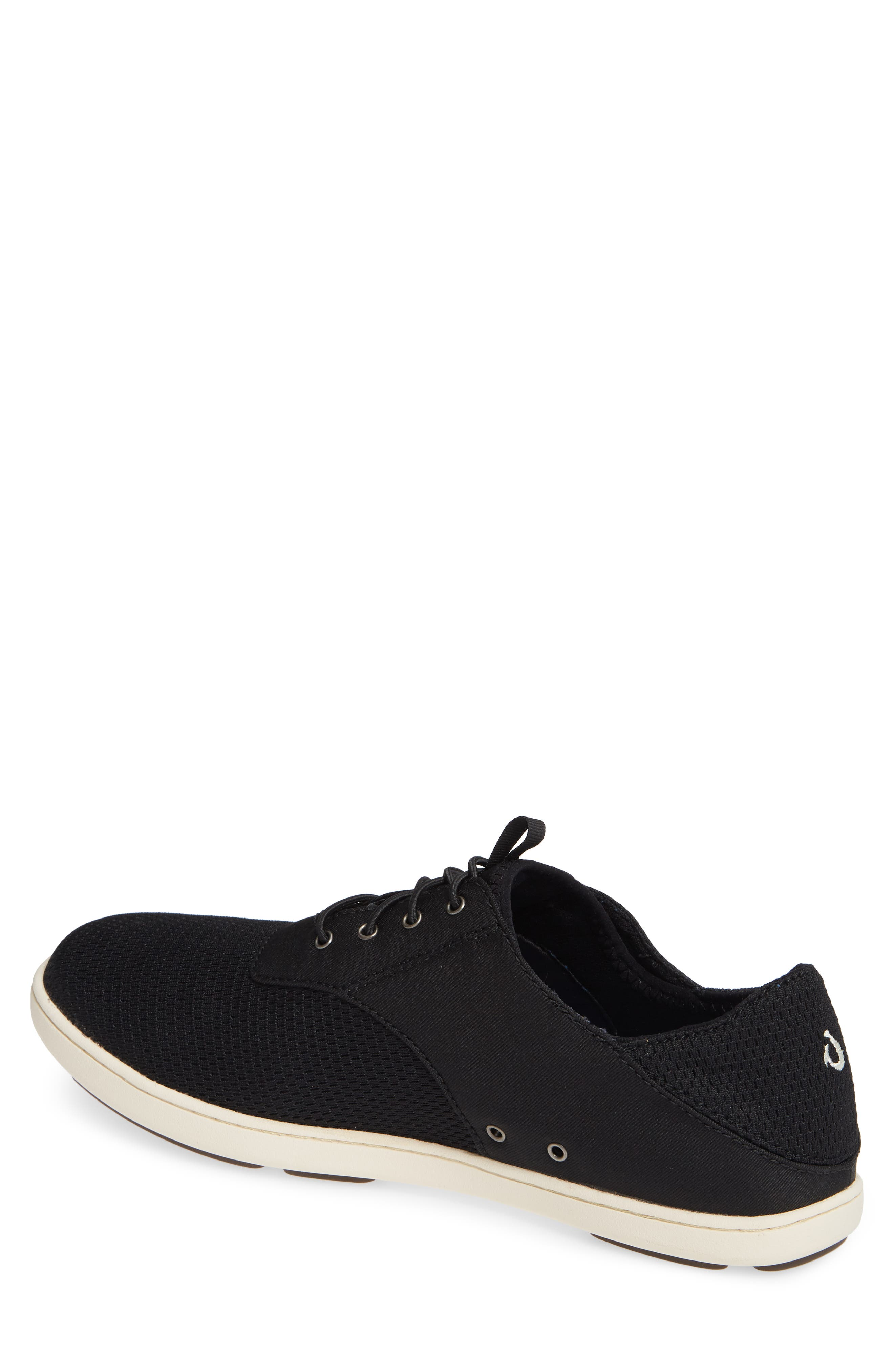 Nohea Moku Sneaker,                             Alternate thumbnail 2, color,                             ONYX/ ONYX TEXTILE