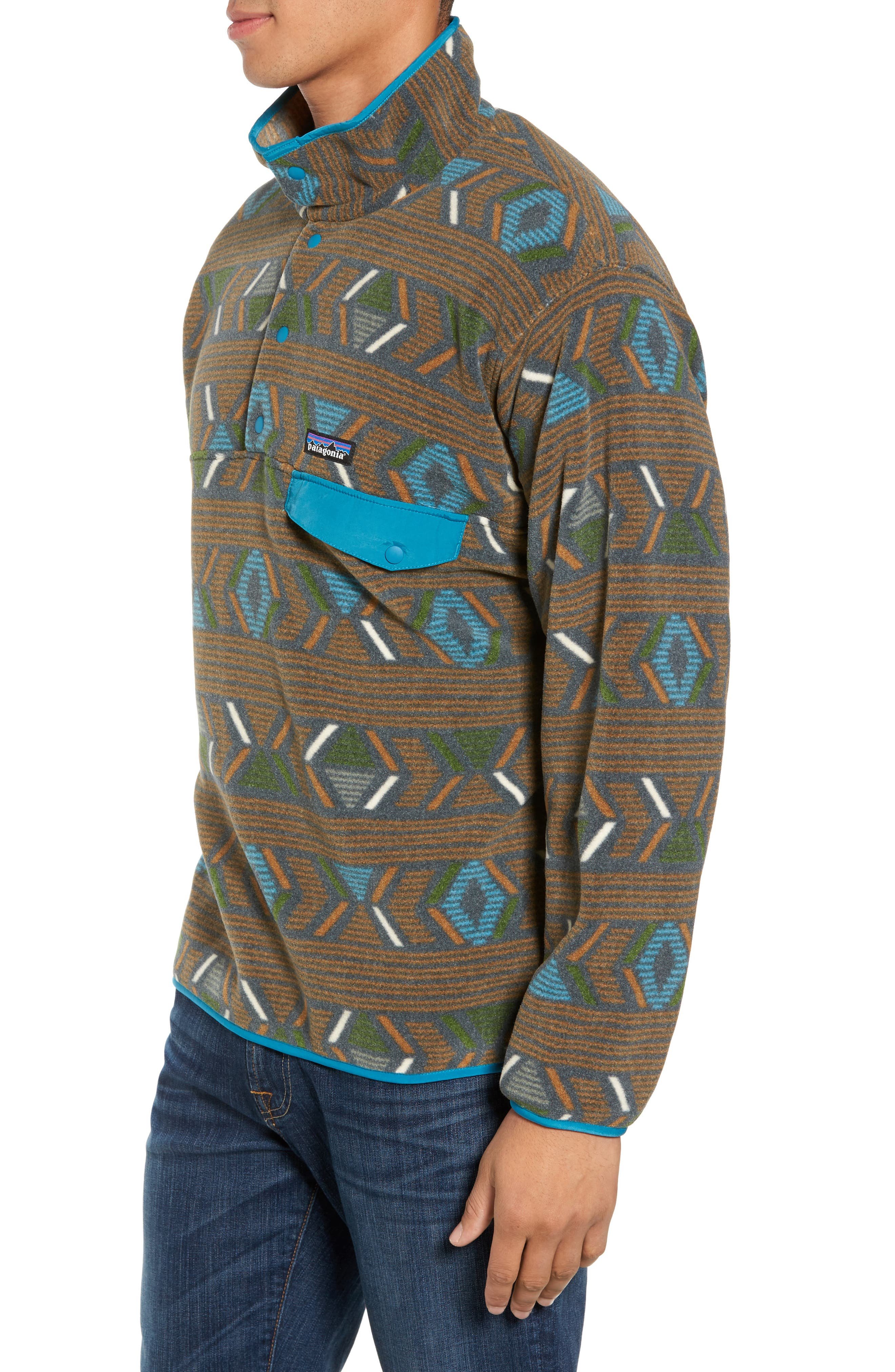 Synchilla<sup>®</sup> Snap-T<sup>®</sup> Pullover,                             Alternate thumbnail 3, color,                             203