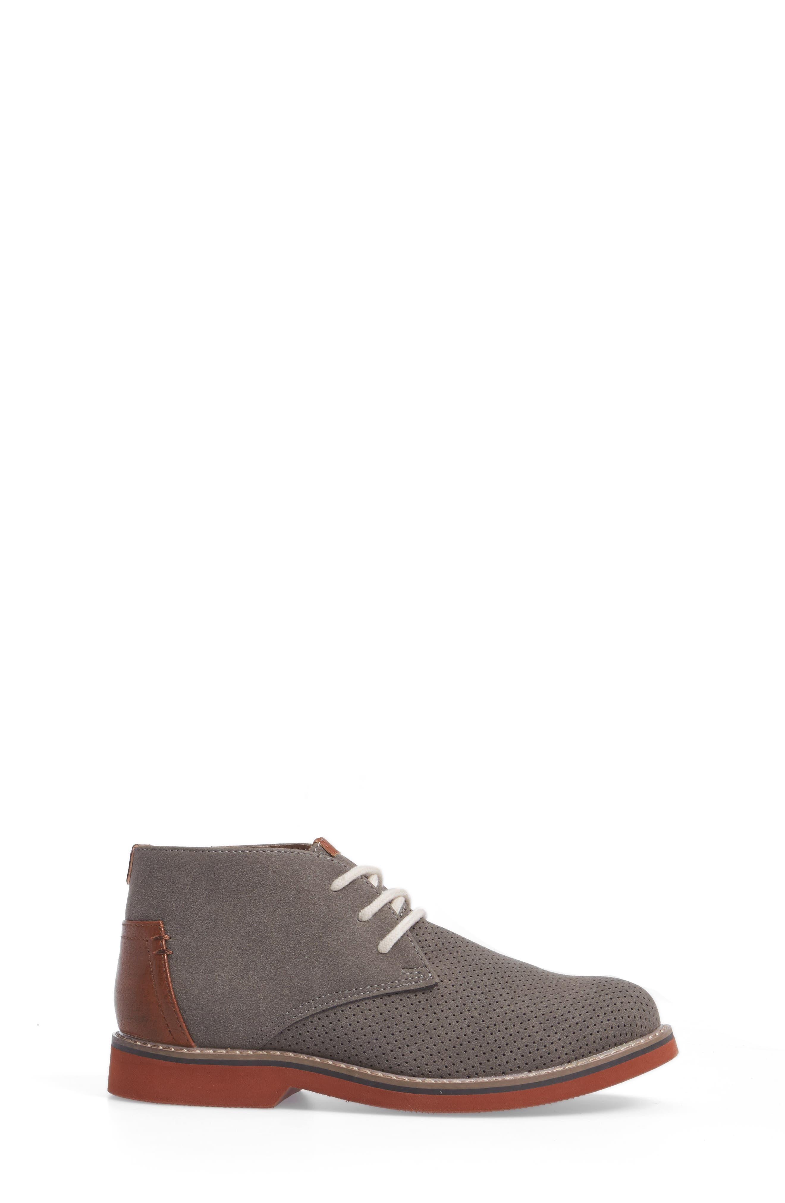 Baden Perforated Chukka Shoe,                             Alternate thumbnail 3, color,                             055