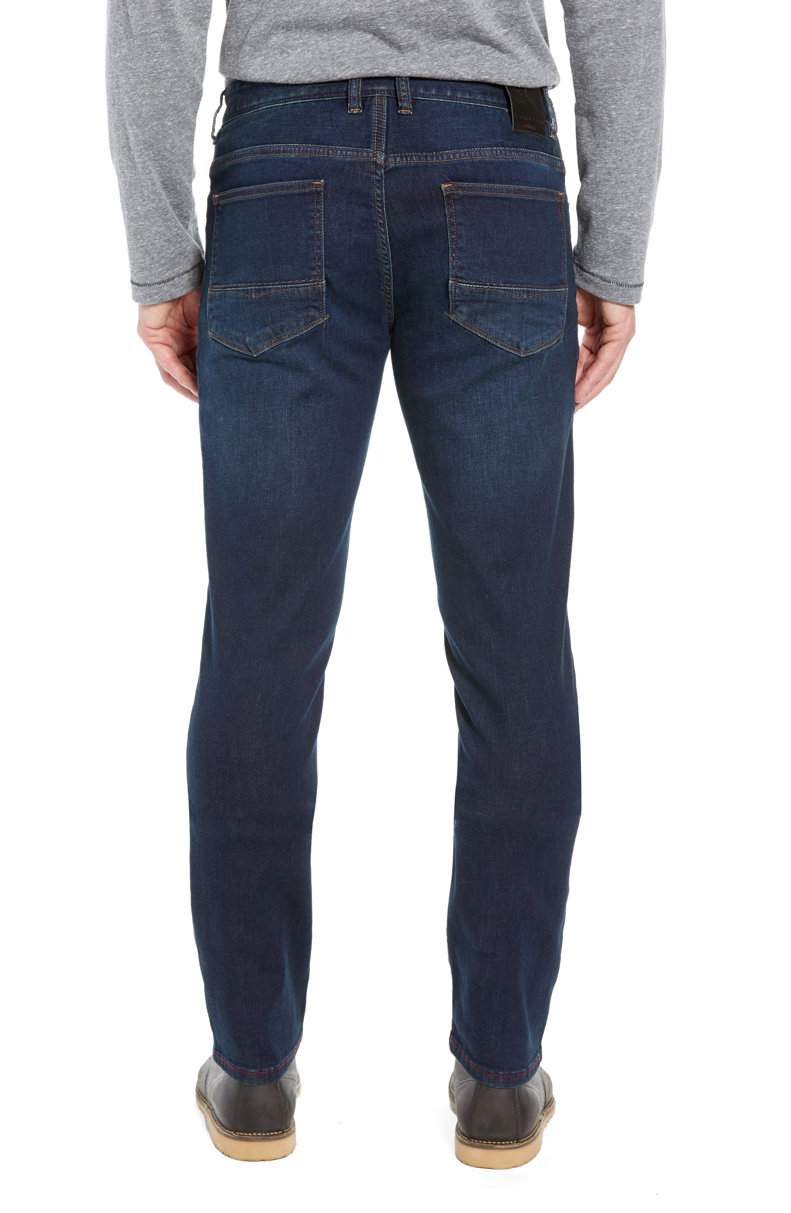 Costa Rica Vintage Regular Fit Jeans,                             Alternate thumbnail 2, color,                             RINSE WASH