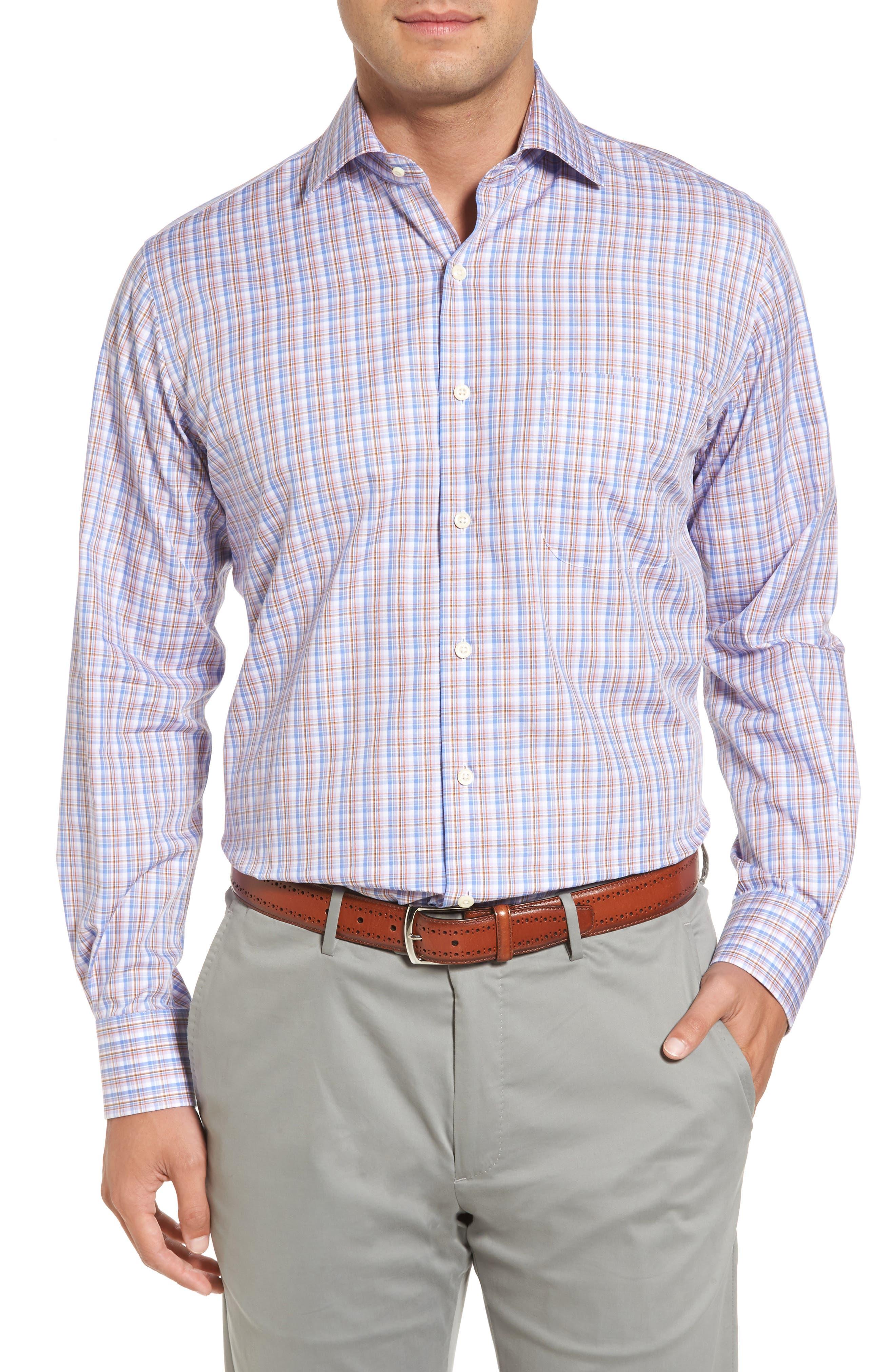 Alpine Regular Fit Plaid Sport Shirt,                         Main,                         color,
