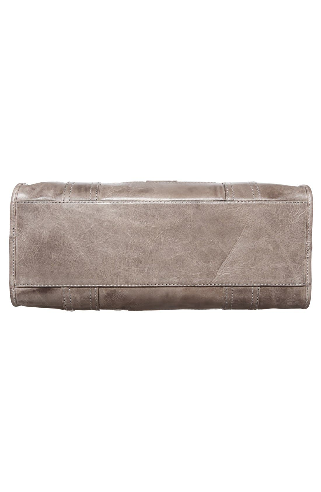 FRYE,                             'Melissa' Washed Leather Satchel,                             Alternate thumbnail 12, color,                             ICE