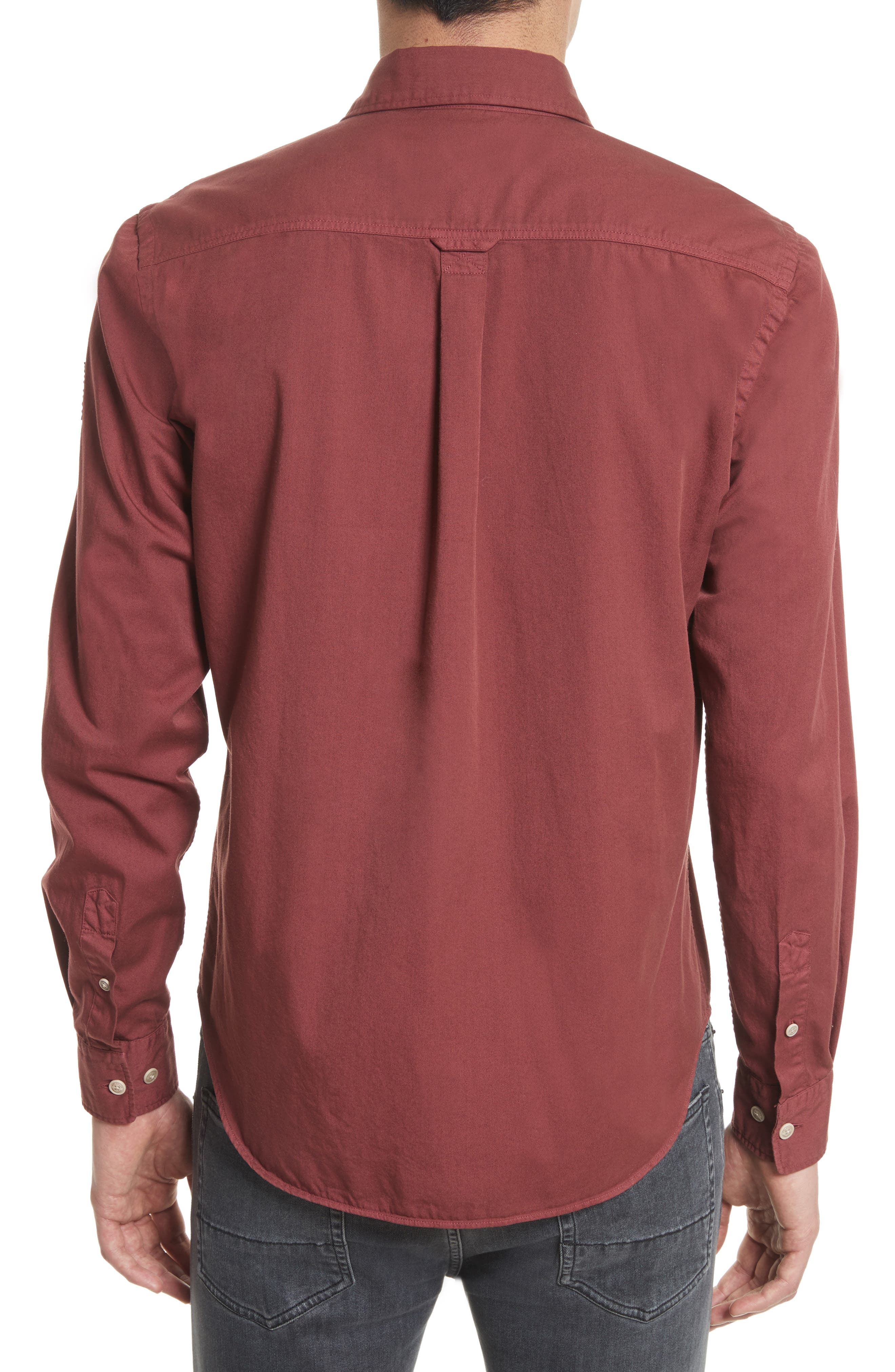 Steadway Extra Slim Fit Sport Shirt,                             Alternate thumbnail 14, color,