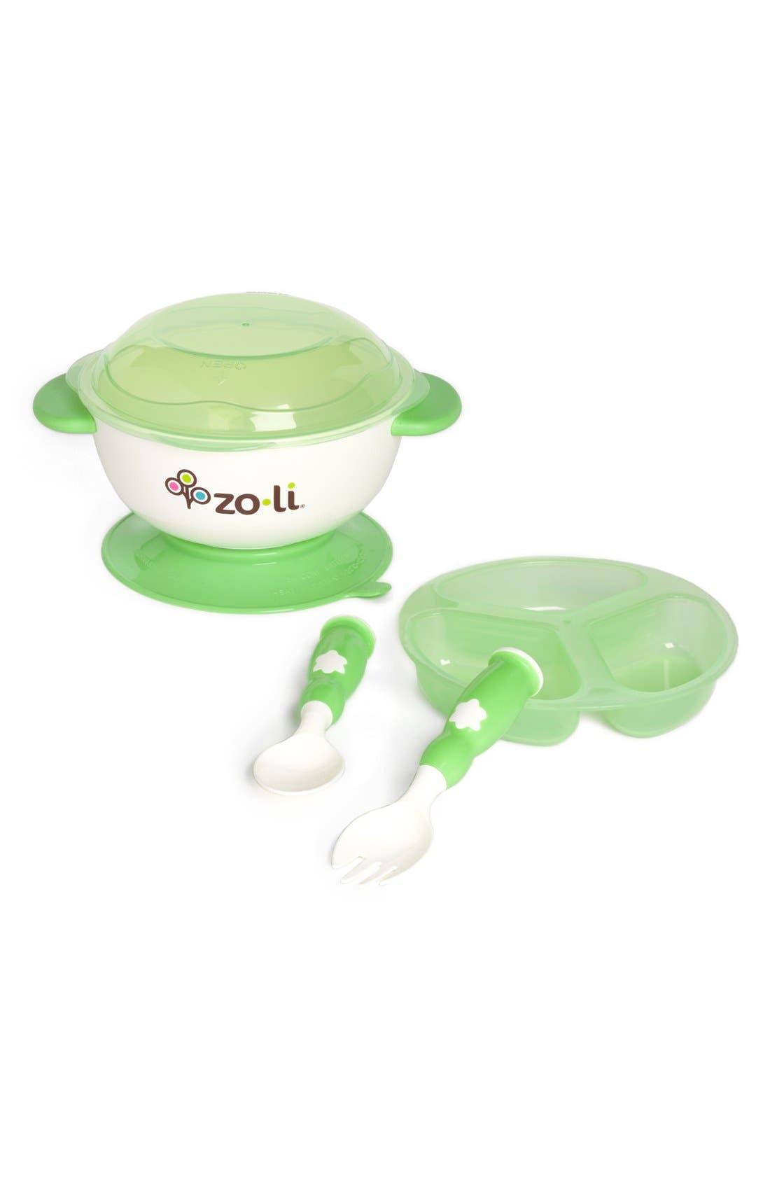 STUCK<sup>™</sup> Suction Bowl Kit,                             Main thumbnail 1, color,                             GREEN