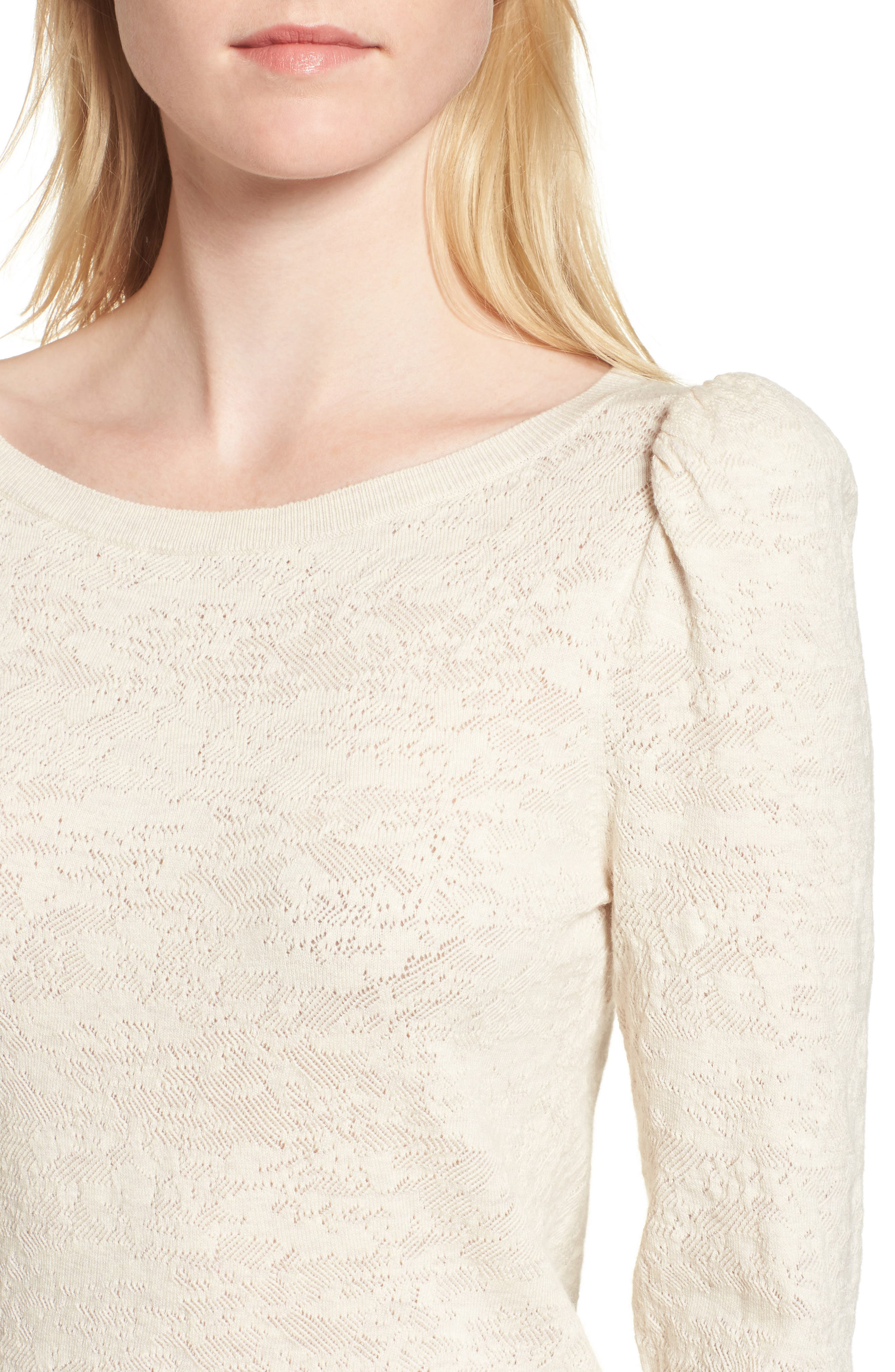 Puff Sleeve Pullover,                             Alternate thumbnail 4, color,                             250