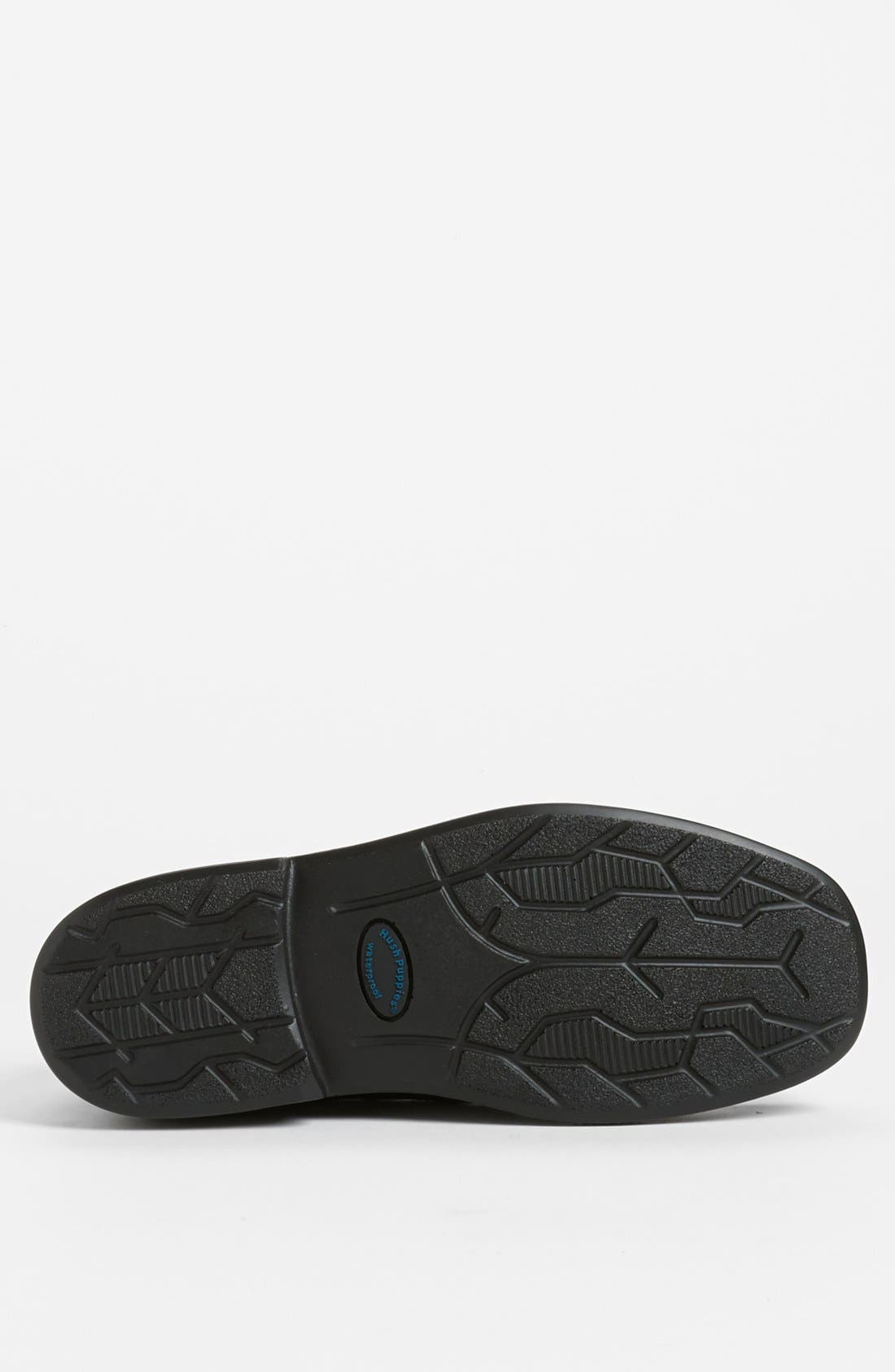 HUSH PUPPIES<SUP>®</SUP>,                             'Leverage' Waterproof Slip-On,                             Alternate thumbnail 3, color,                             001