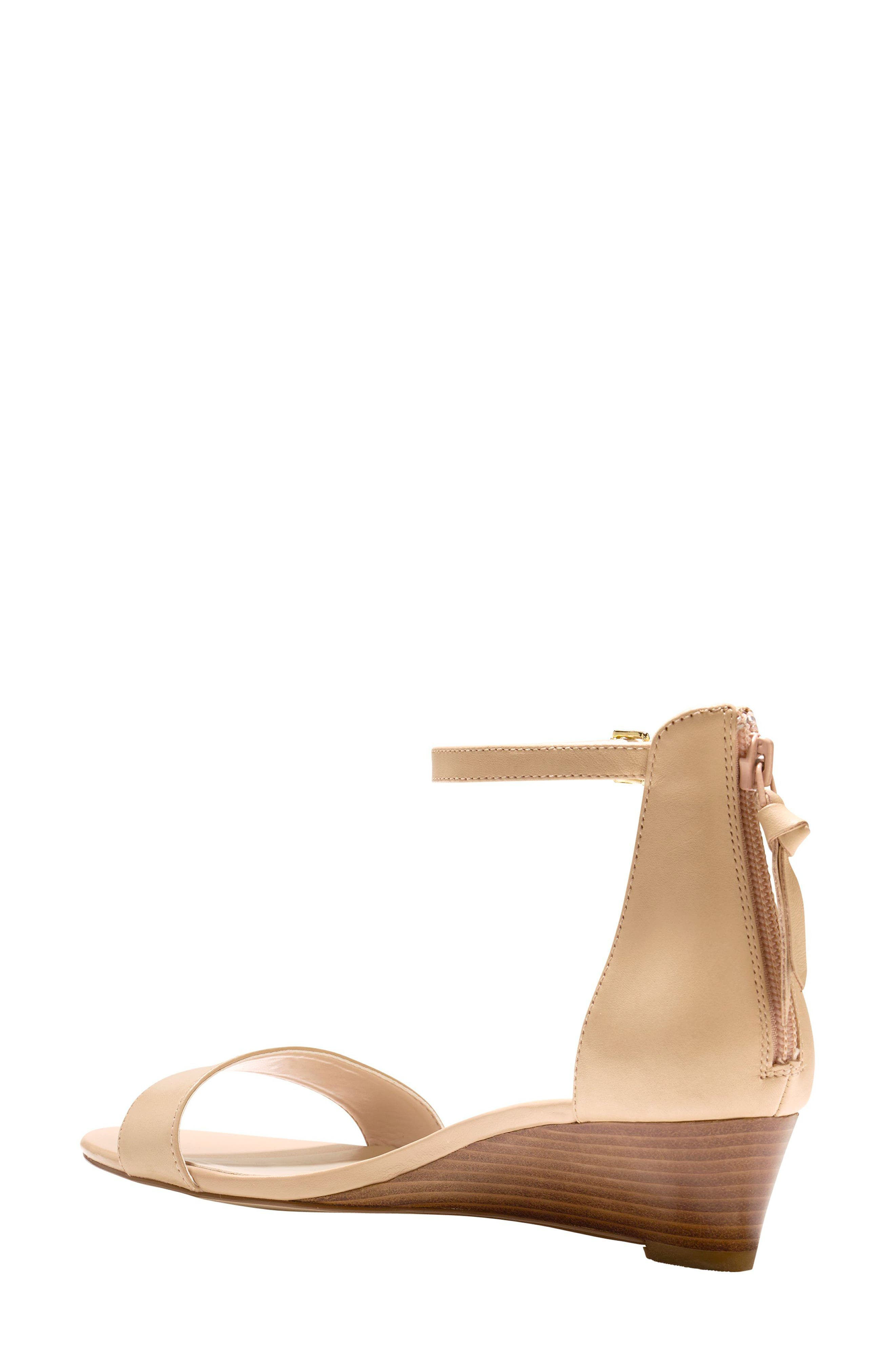 Adderly Sandal,                             Alternate thumbnail 2, color,                             NUDE LEATHER