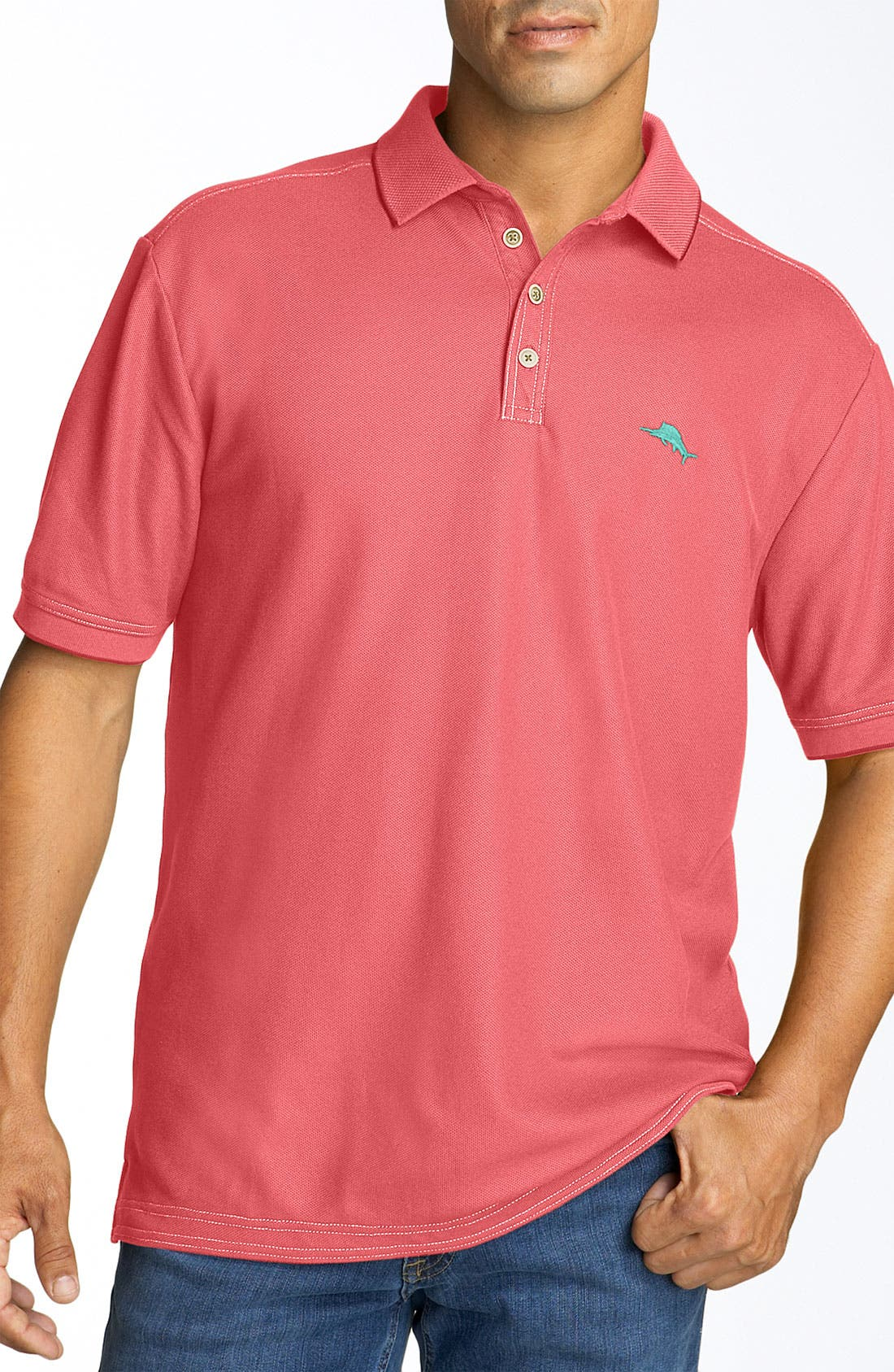 'The Emfielder' Original Fit Piqué Polo,                             Main thumbnail 97, color,