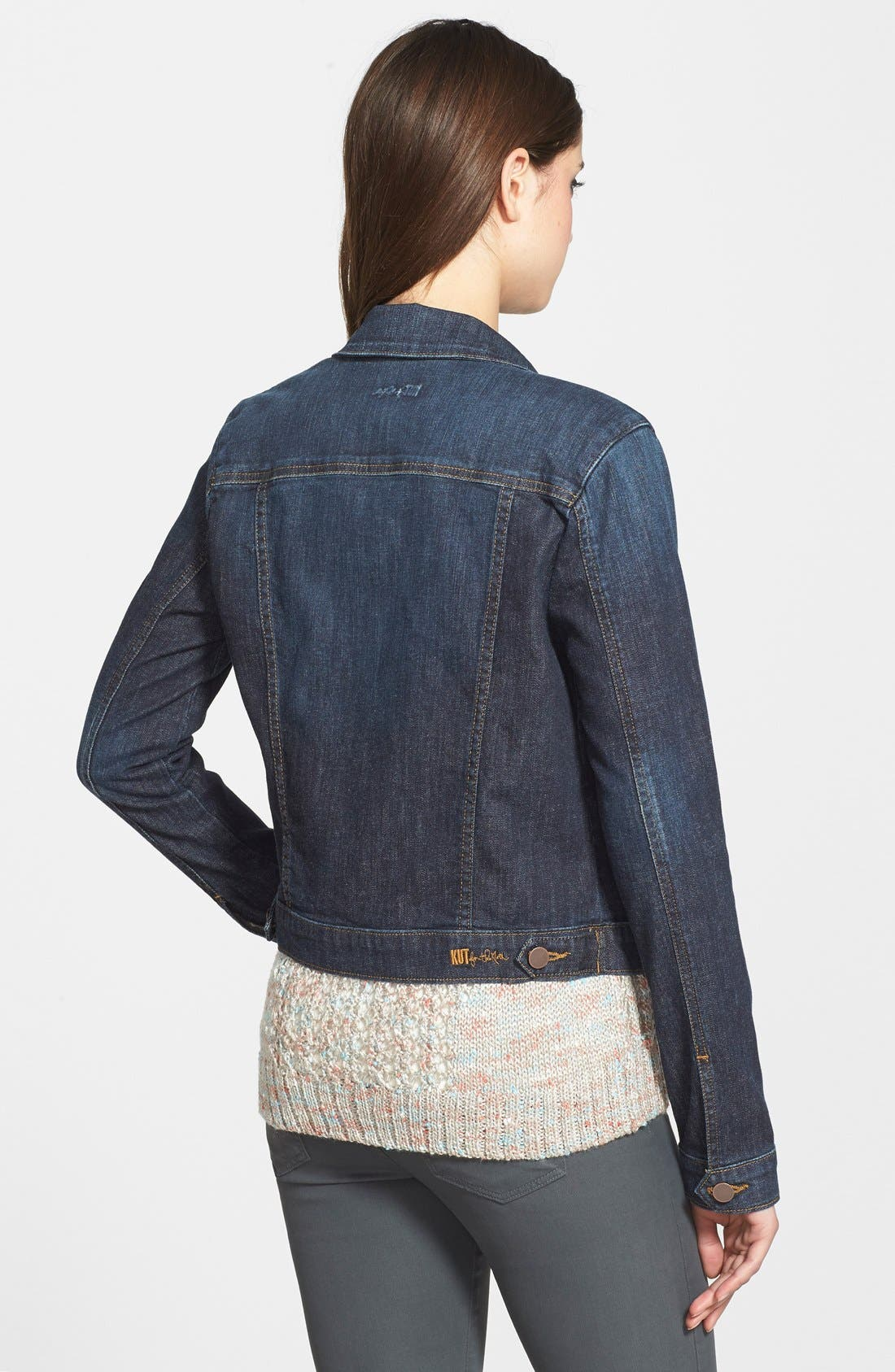 'Helena' Denim Jacket,                             Alternate thumbnail 34, color,