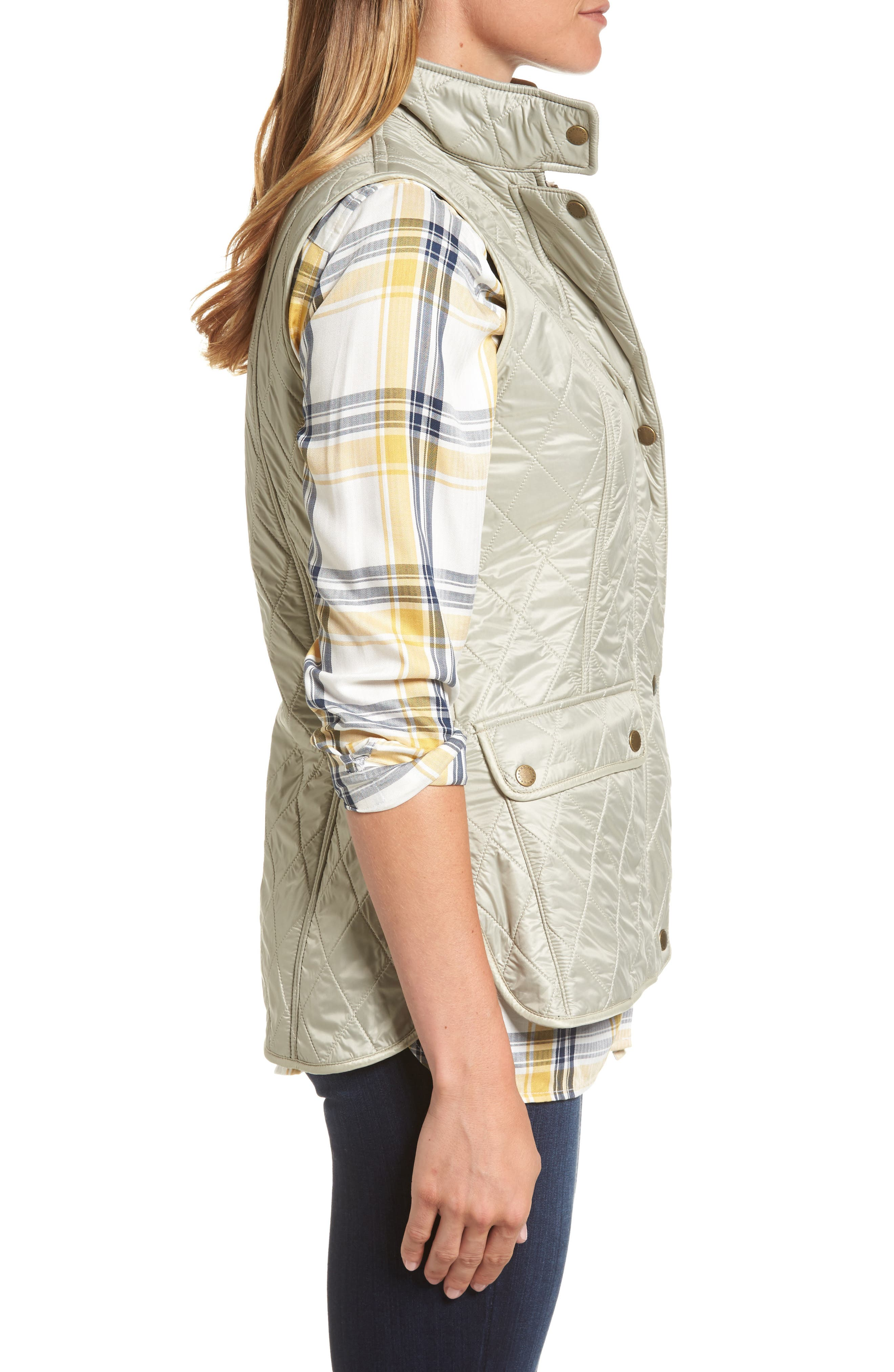 Wray Water Resistant Quilted Gilet,                             Alternate thumbnail 10, color,