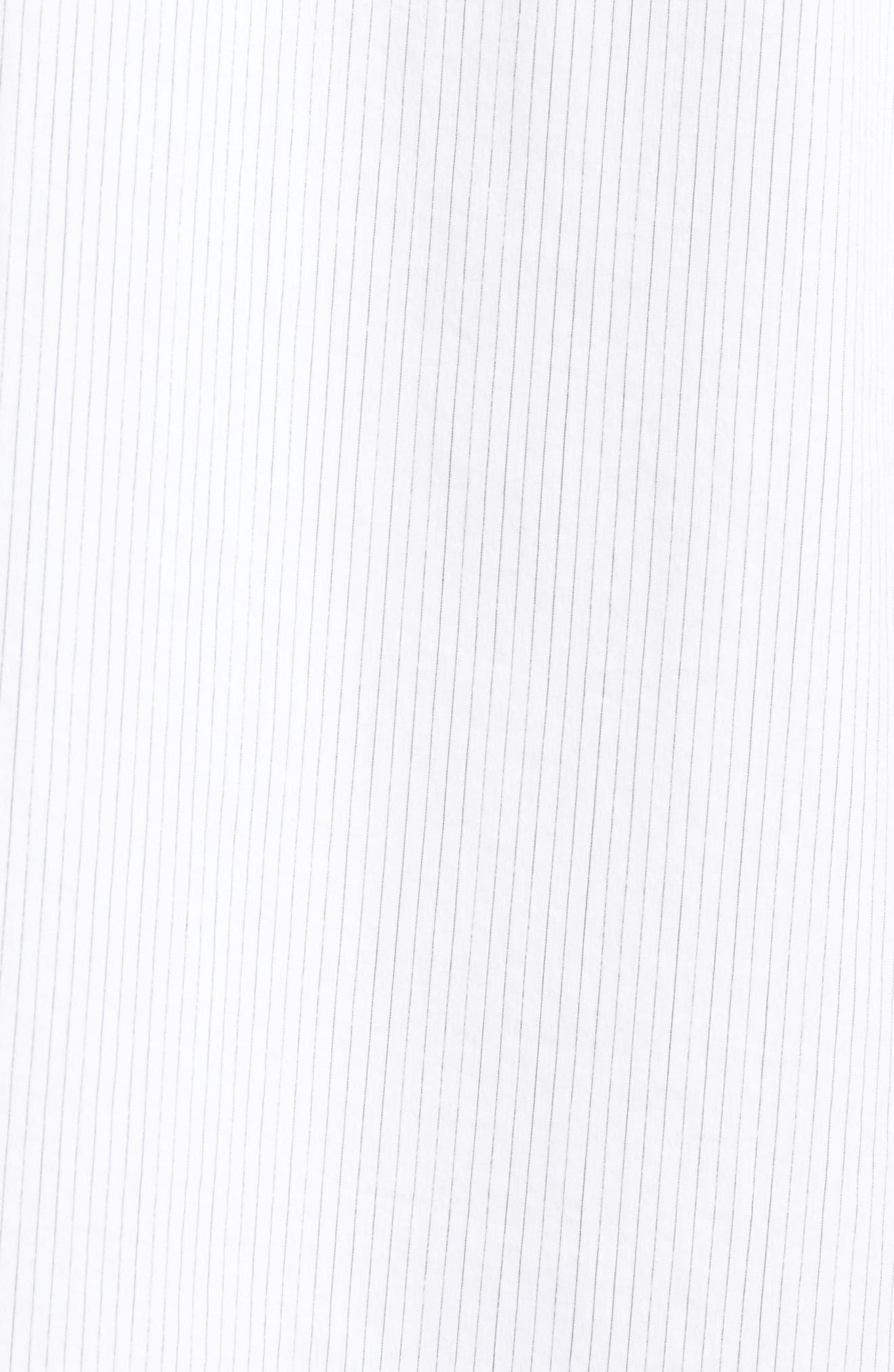 Regular Fit Stretch Stripe Sport Shirt,                             Alternate thumbnail 9, color,
