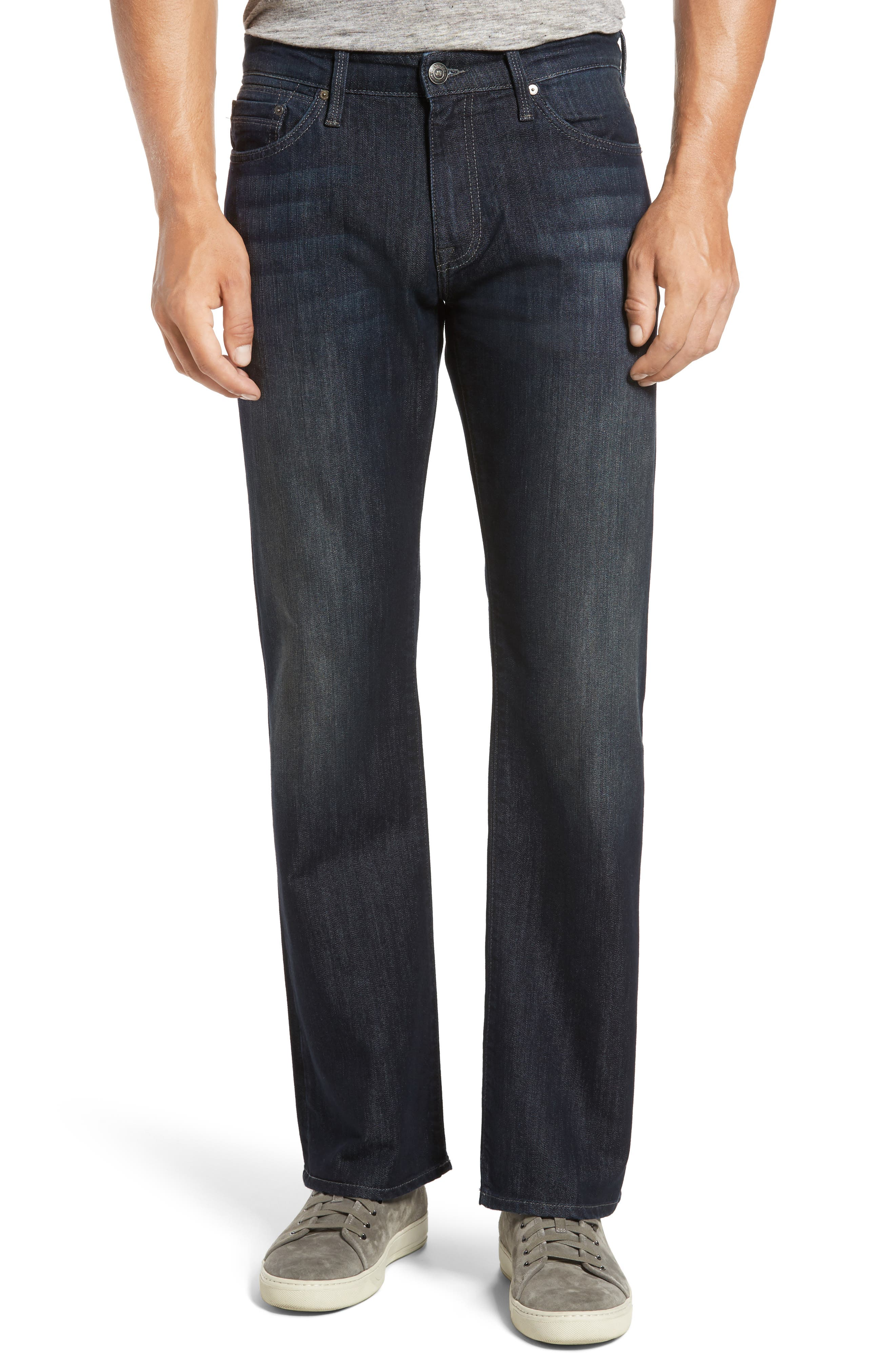 Josh Bootcut Jeans,                         Main,                         color, DEEP STANFORD