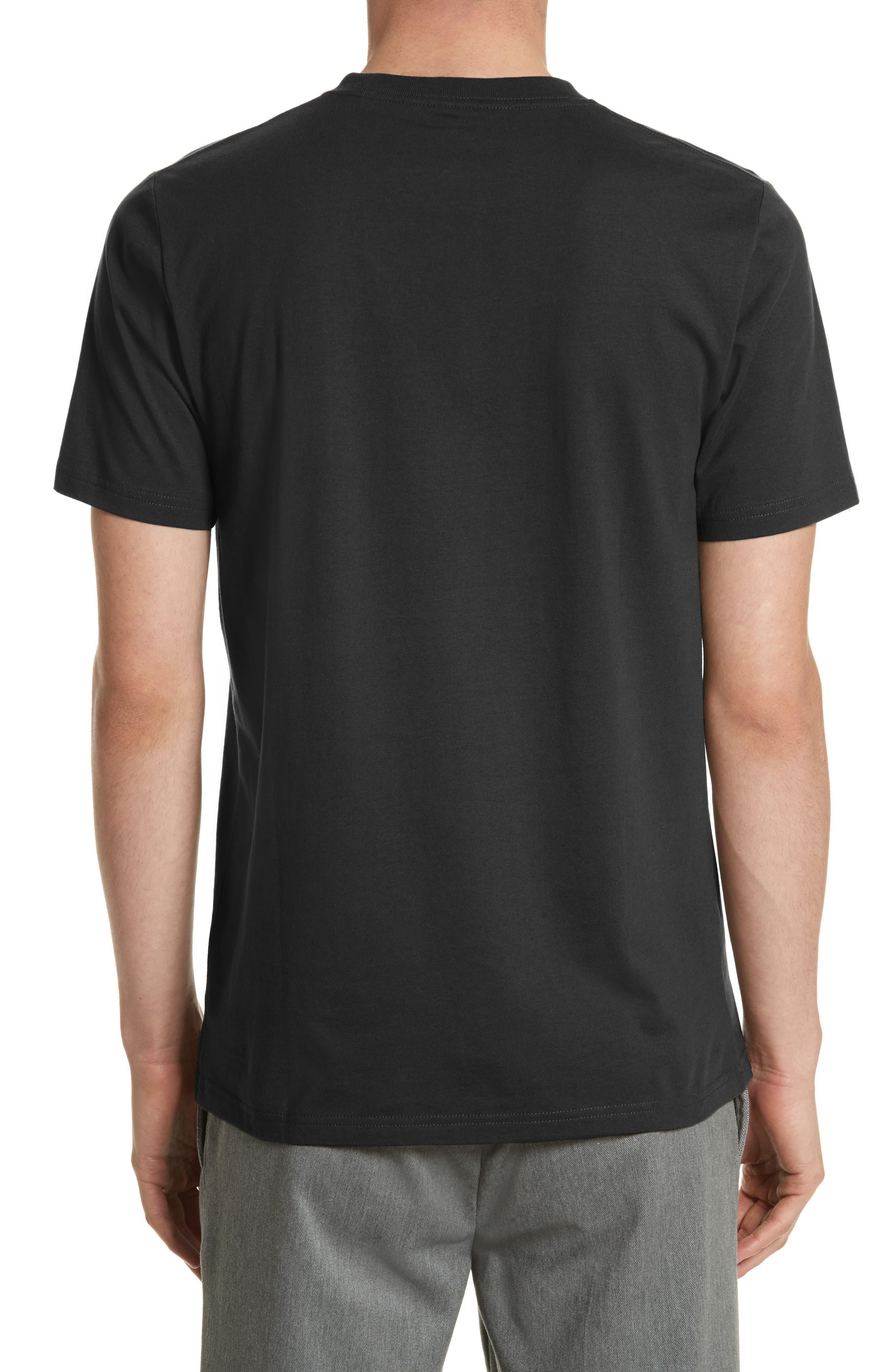 Logo Pocket T-Shirt,                             Alternate thumbnail 2, color,                             001
