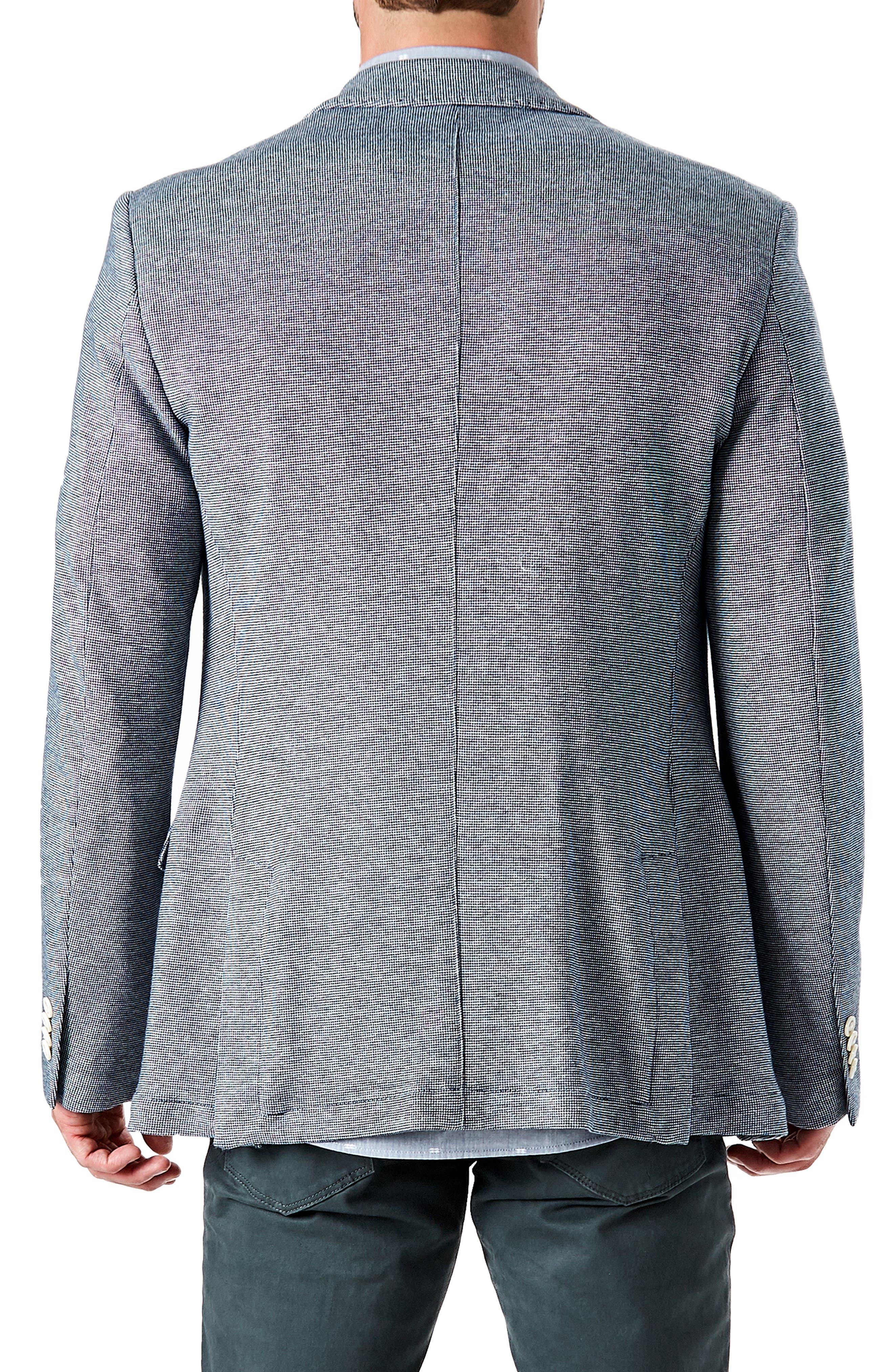 Berlin Trim Fit Sport Coat,                             Alternate thumbnail 2, color,                             NAVY