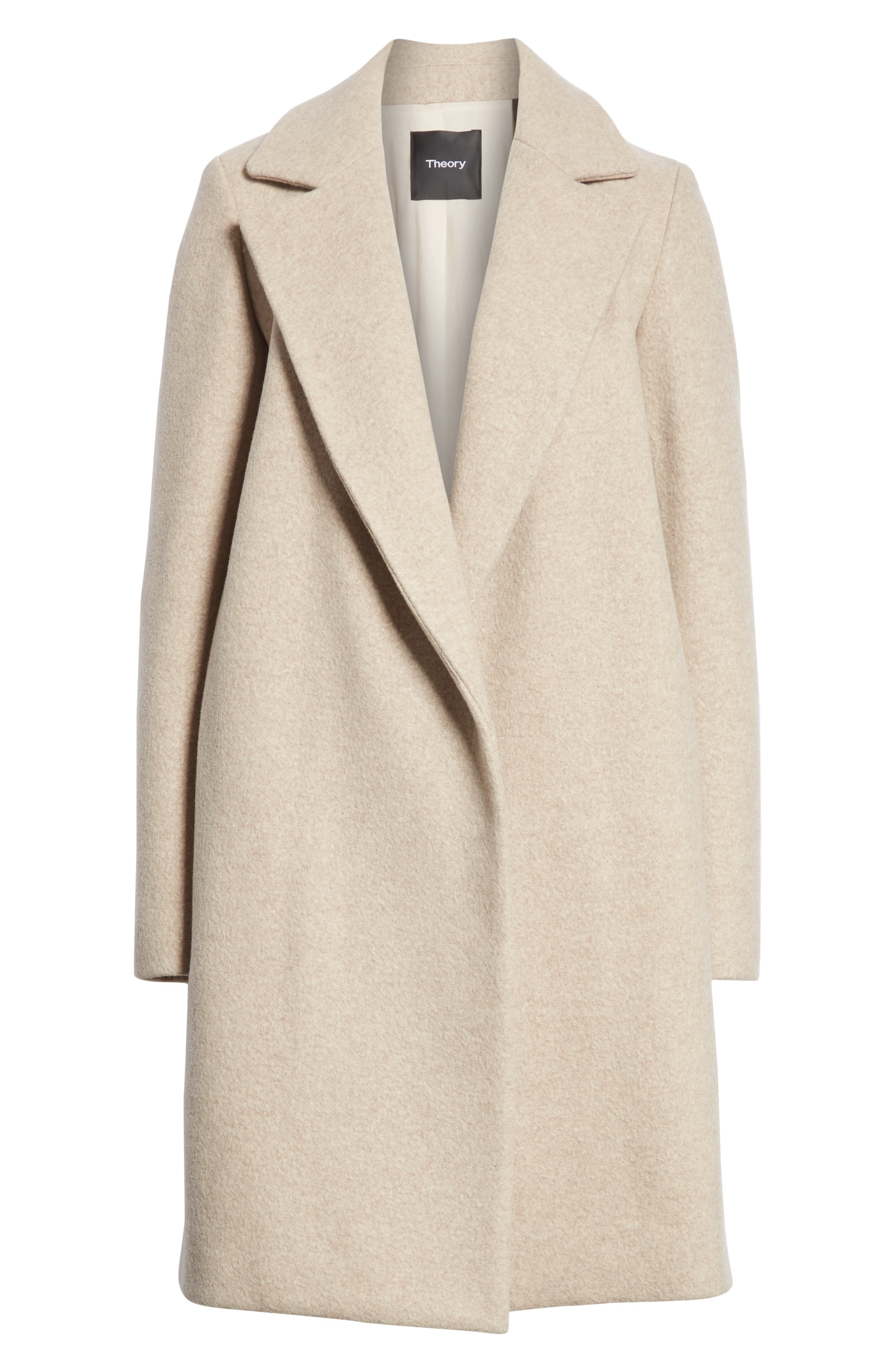Clairene Hawthorne Wool Cashmere Coat,                             Alternate thumbnail 5, color,                             260