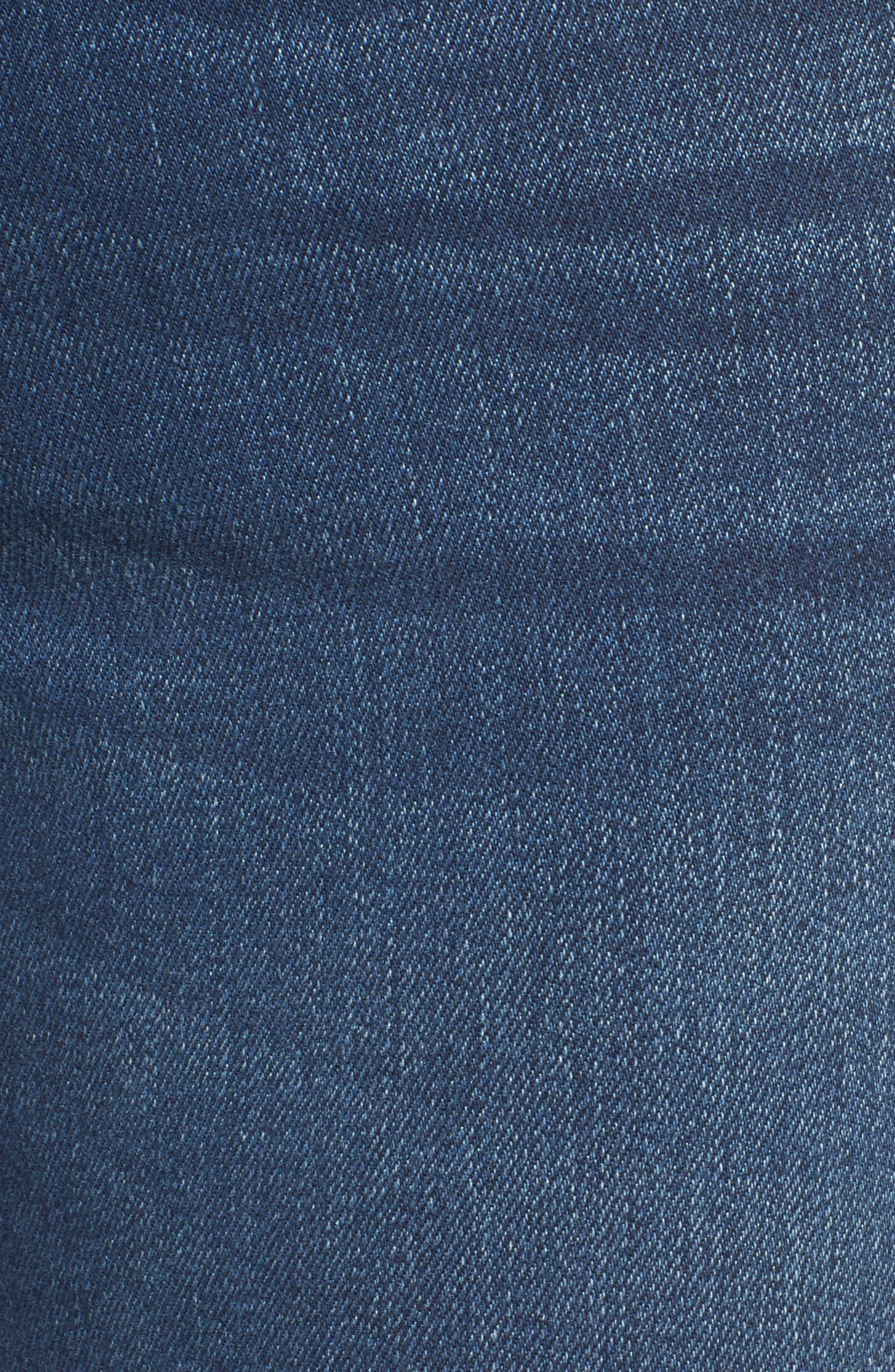 Billie Straight Leg Jeans,                             Alternate thumbnail 5, color,                             400