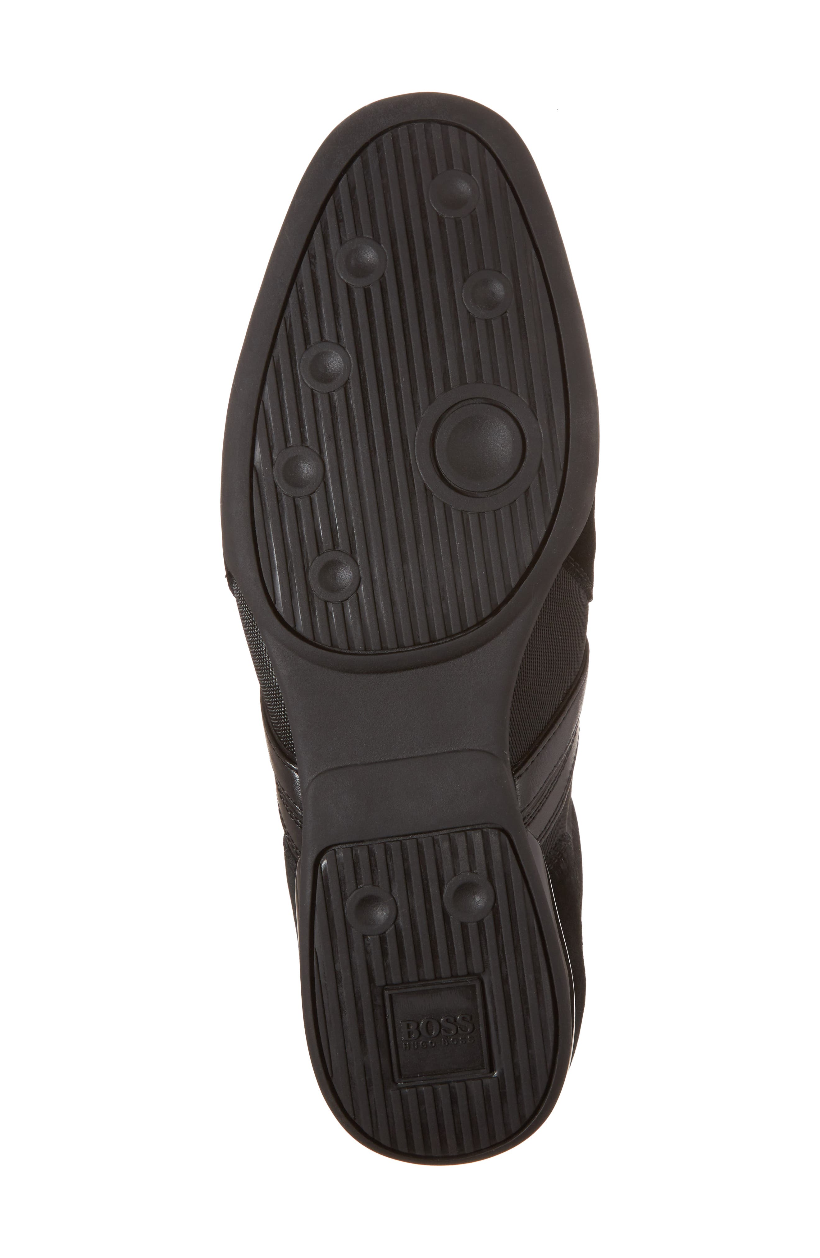 BOSS,                             Hugo Boss Sneaker,                             Alternate thumbnail 6, color,                             001