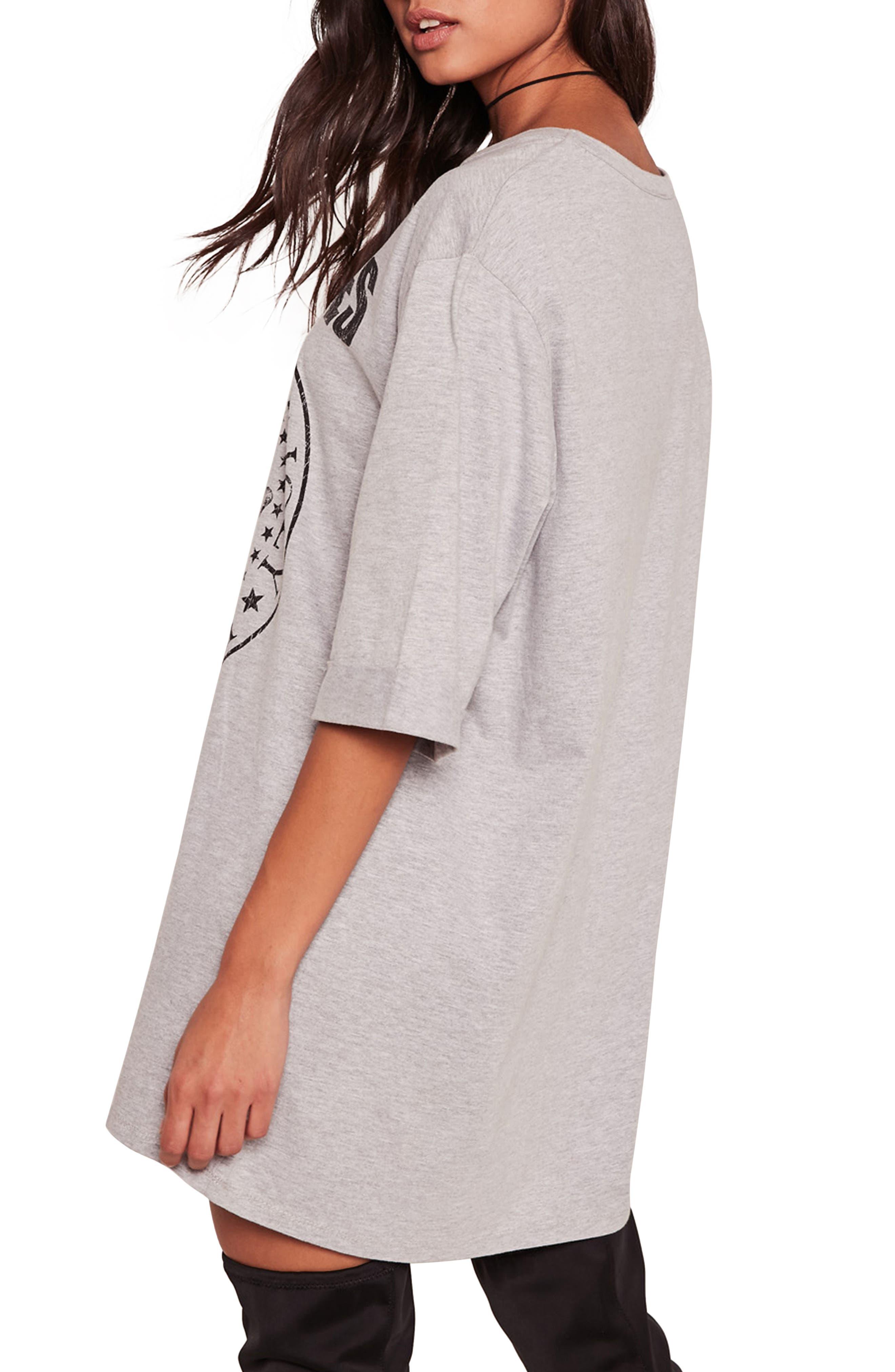 Ramones T-Shirt Dress,                             Alternate thumbnail 2, color,                             060