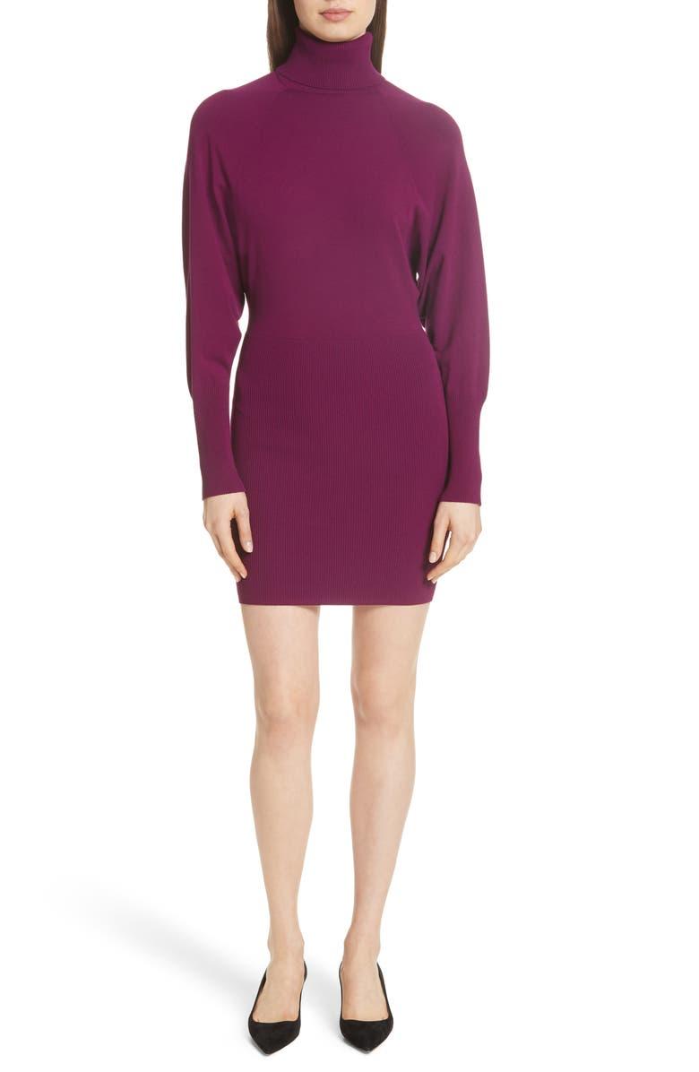 A.l.c Furs CAREN TURTLENECK SWEATER DRESS