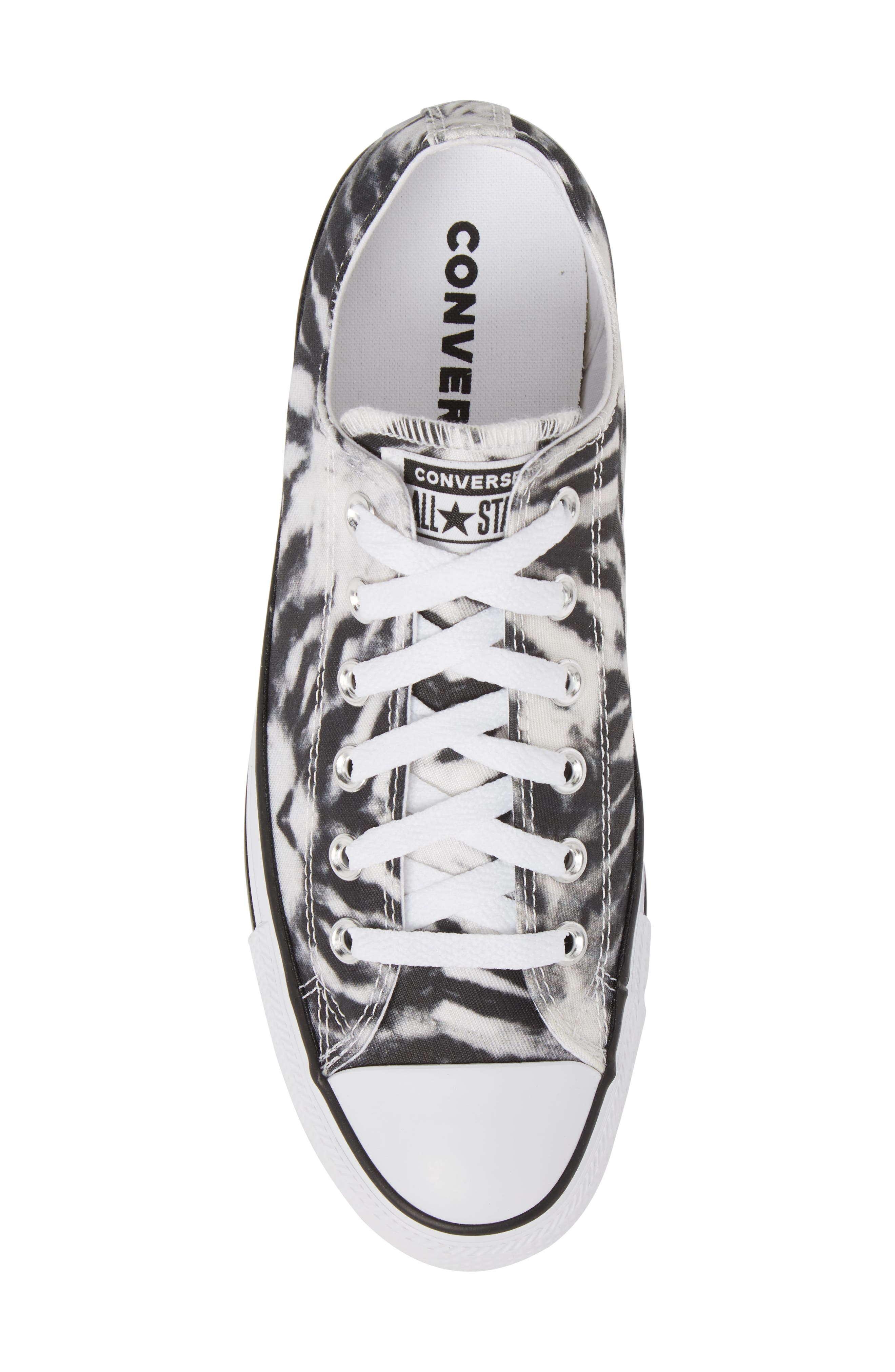 Chuck Taylor<sup>®</sup> All Star<sup>®</sup> Tie Dye Low Top Sneaker,                             Alternate thumbnail 5, color,                             001