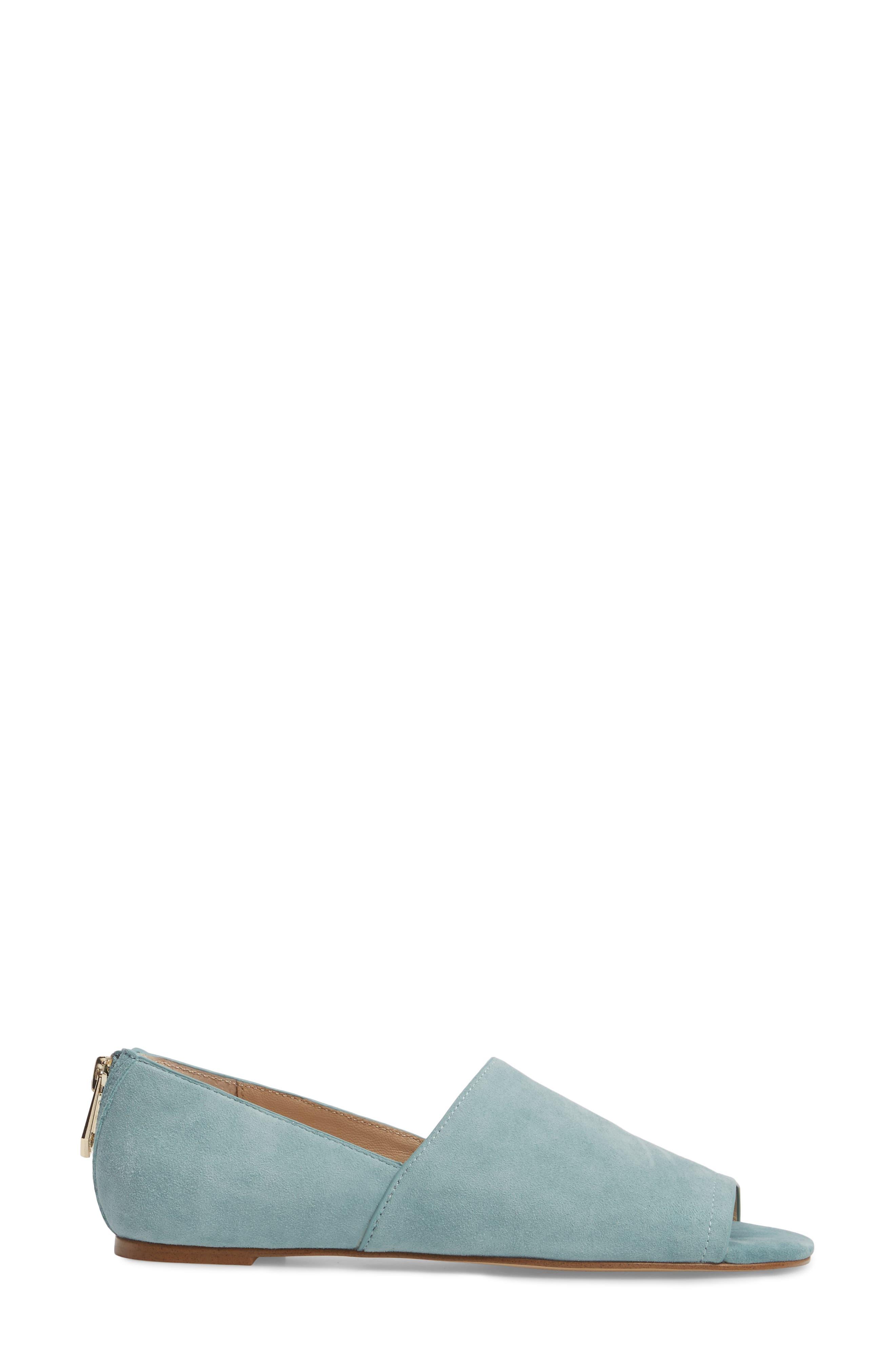 Maxine Peep Toe Flat,                             Alternate thumbnail 20, color,