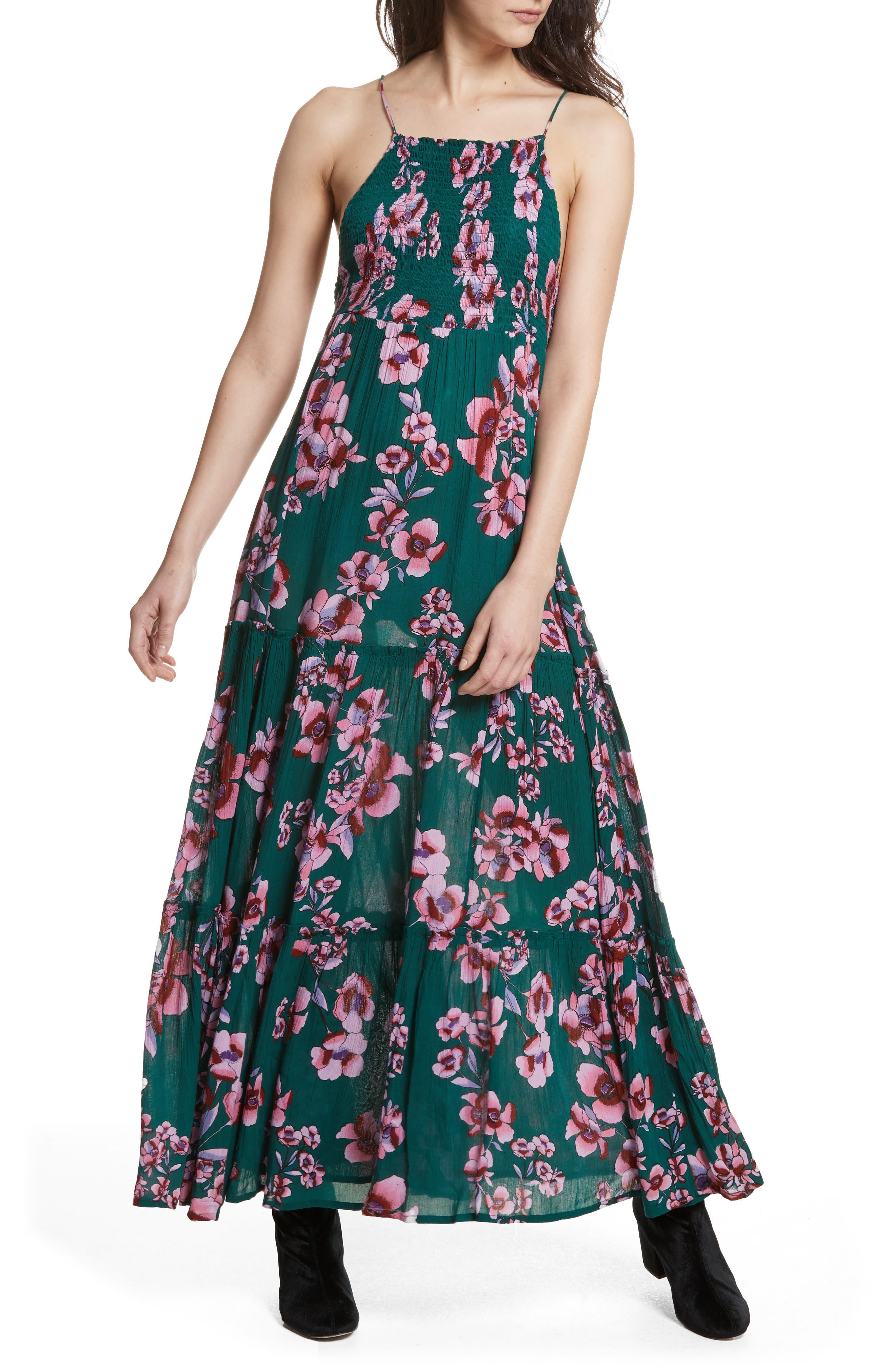 Garden Party Maxi Dress,                             Main thumbnail 2, color,