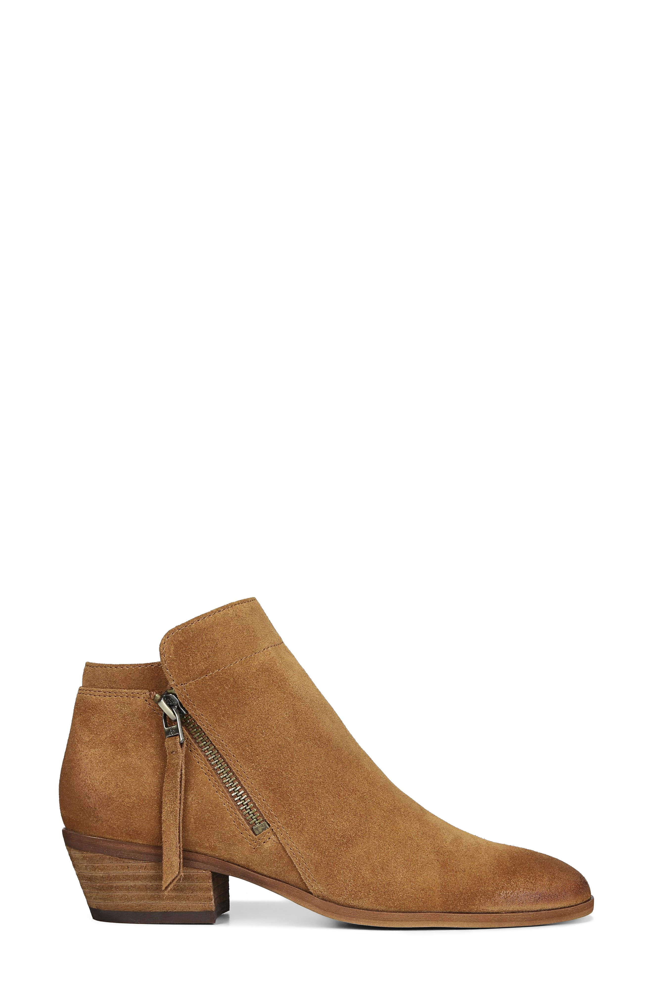 Packer Bootie,                             Alternate thumbnail 3, color,                             LUGGAGE SUEDE LEATHER