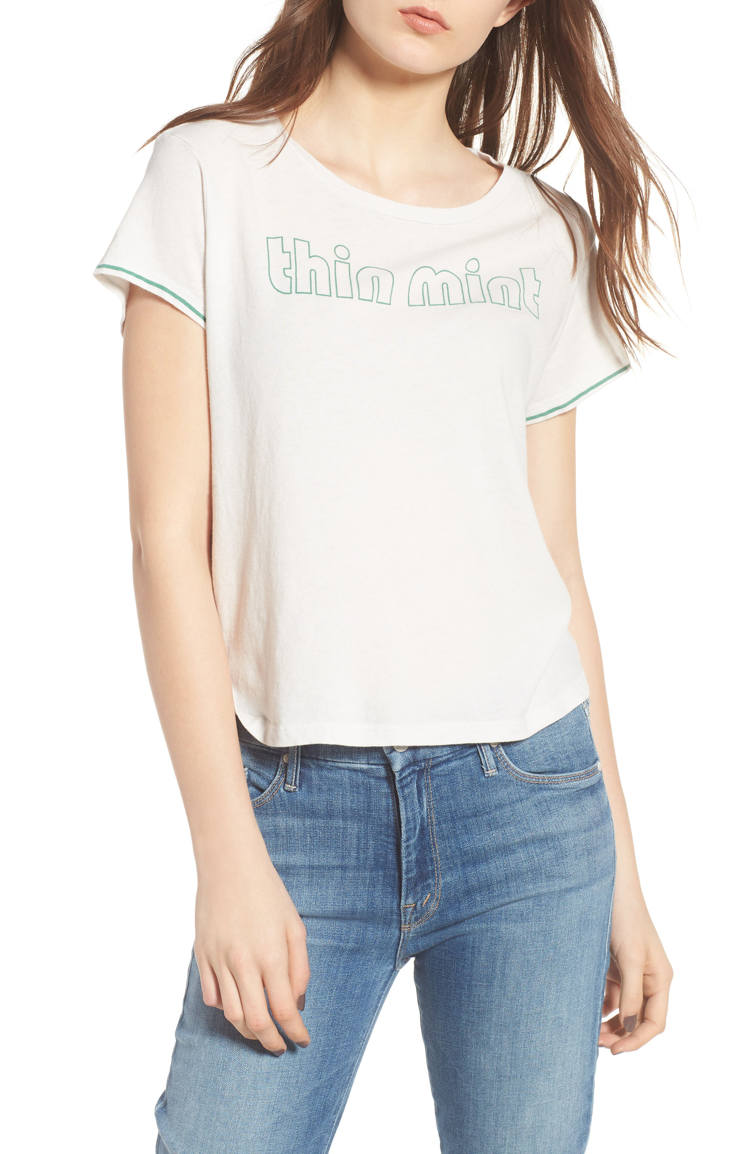 The Crop Goodie Goodie Tee,                         Main,                         color,