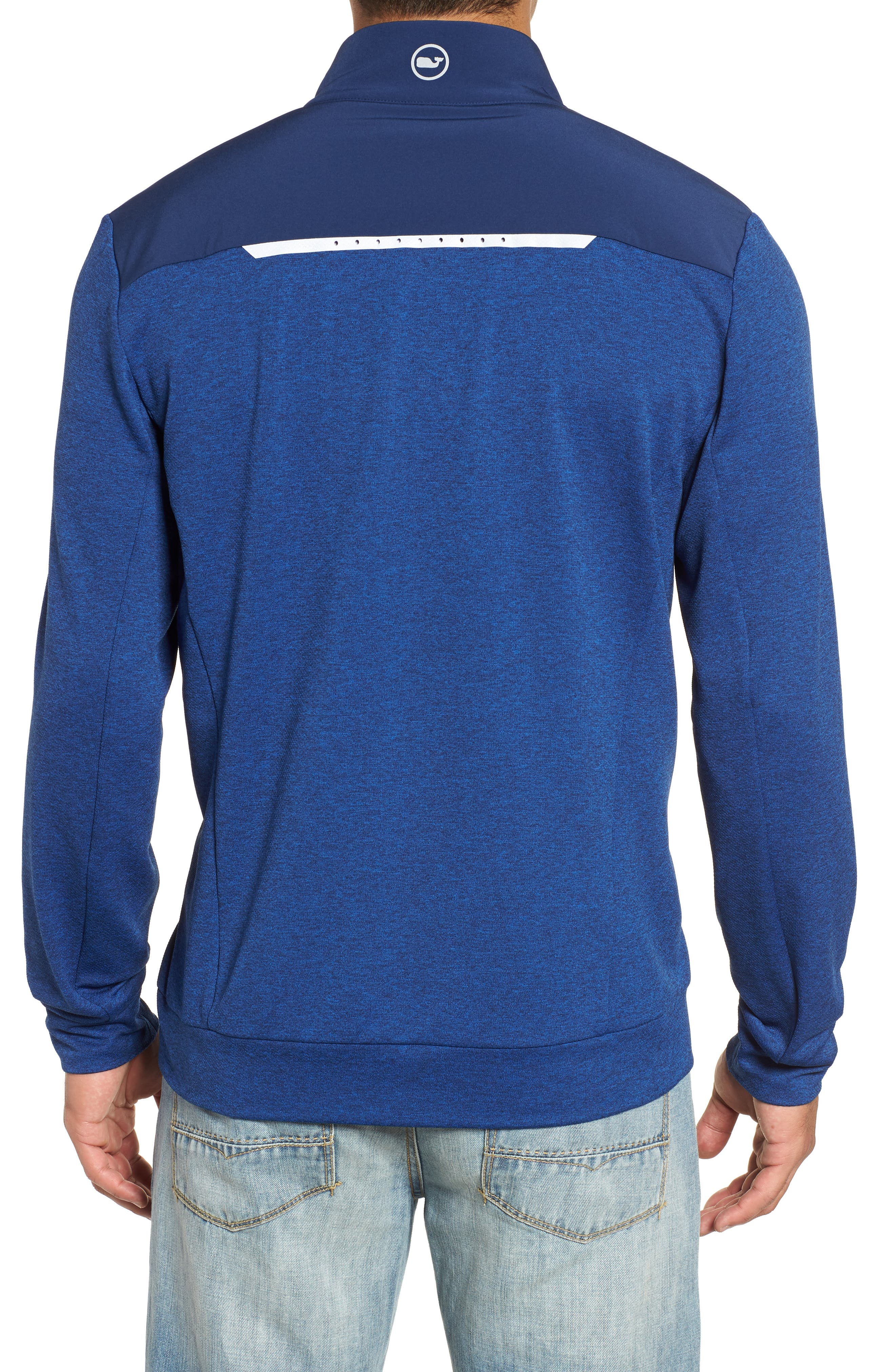 Performance Quarter Zip Pullover,                             Alternate thumbnail 4, color,
