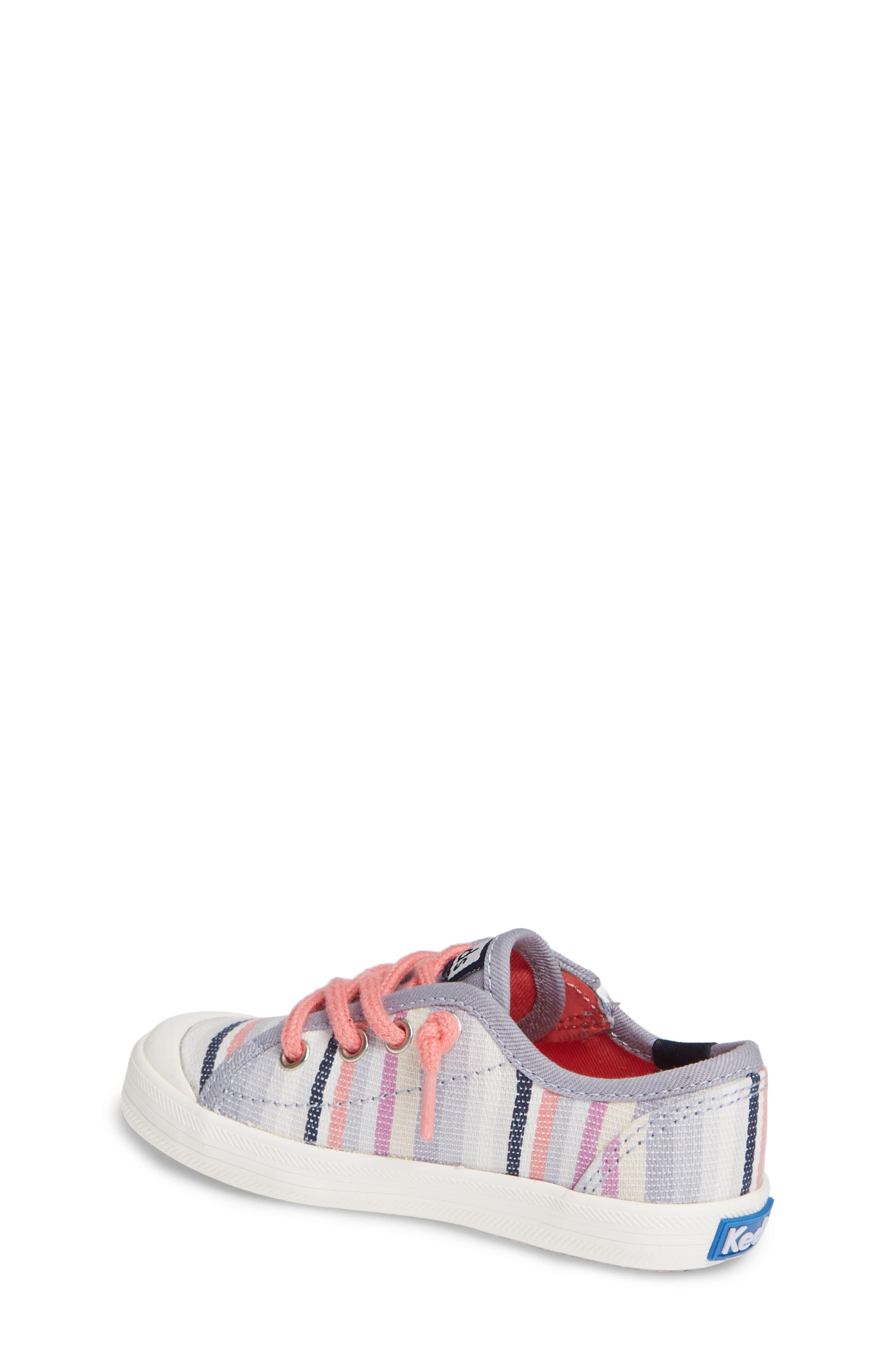 Kickstart Stripe Cap Toe Sneaker,                             Alternate thumbnail 2, color,                             MULTI STRIPE