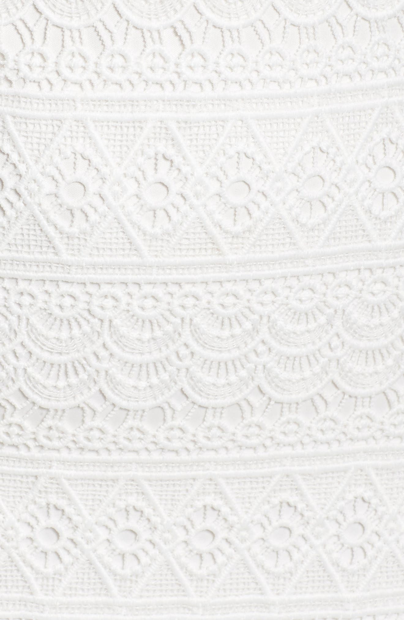 Terrace Time Lace Slipdress,                             Alternate thumbnail 12, color,