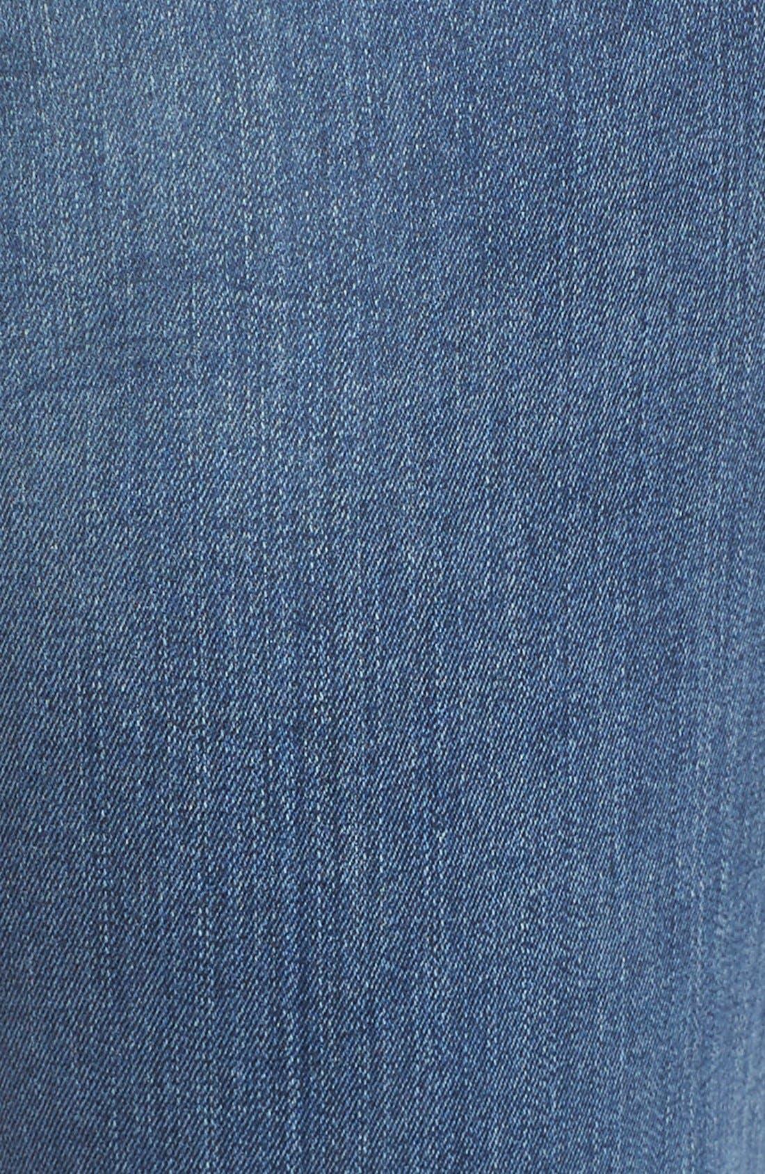 'Samantha' Stretch Slim Straight Leg Jeans,                             Alternate thumbnail 3, color,                             421