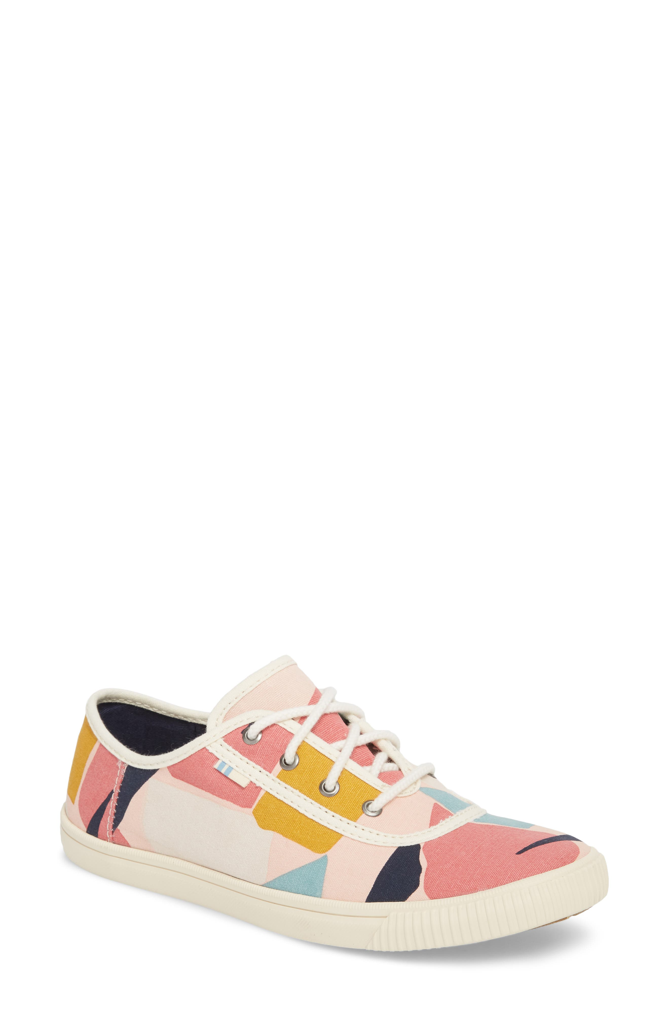 Carmel Print Sneaker,                             Main thumbnail 1, color,