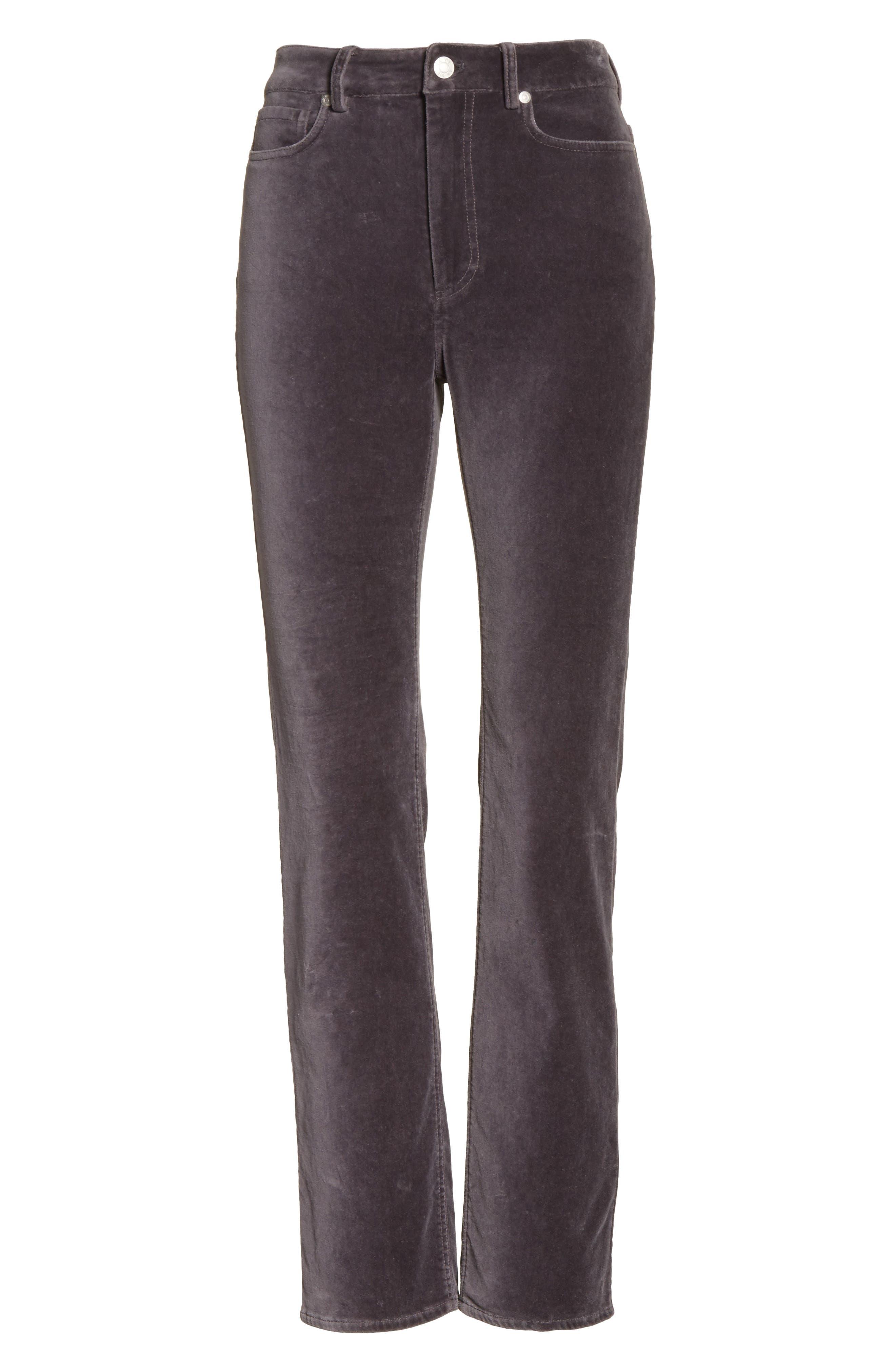Velvet Clemence Skinny Pants,                             Alternate thumbnail 6, color,                             099