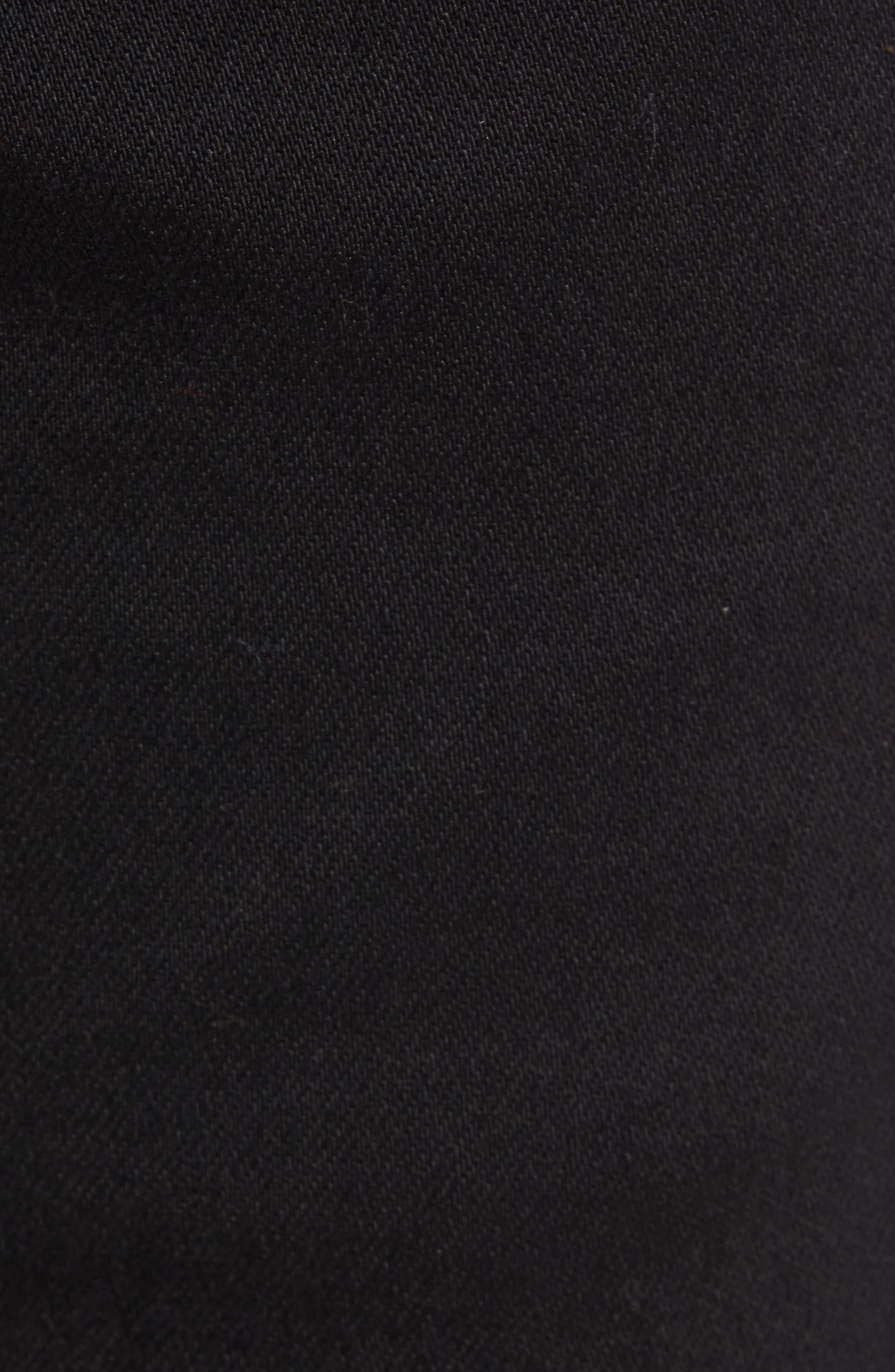 Destroyer Ripped Slim Fit Jeans,                             Alternate thumbnail 5, color,                             BLACK