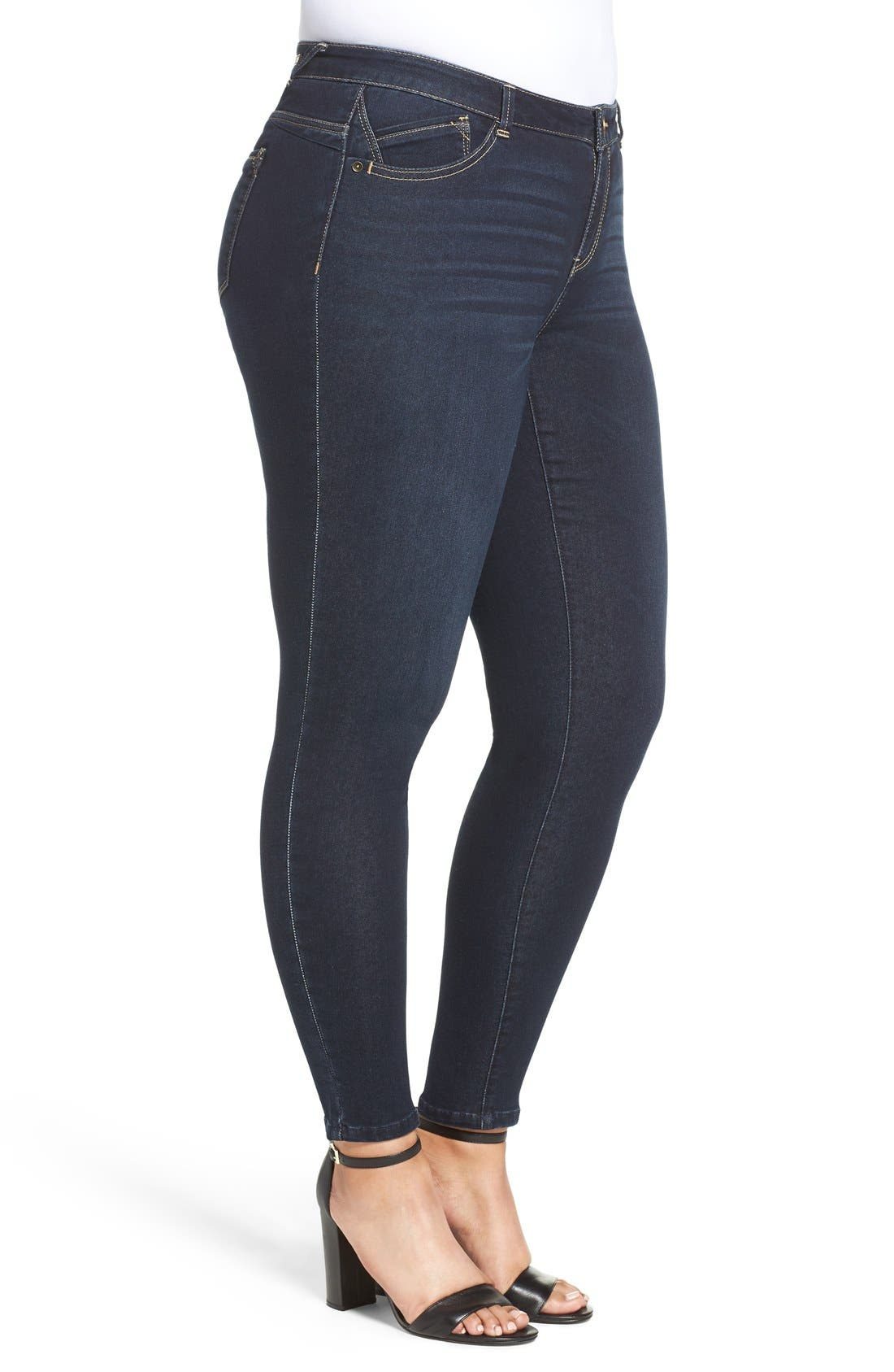 Stretch Skinny Jeans,                             Alternate thumbnail 4, color,