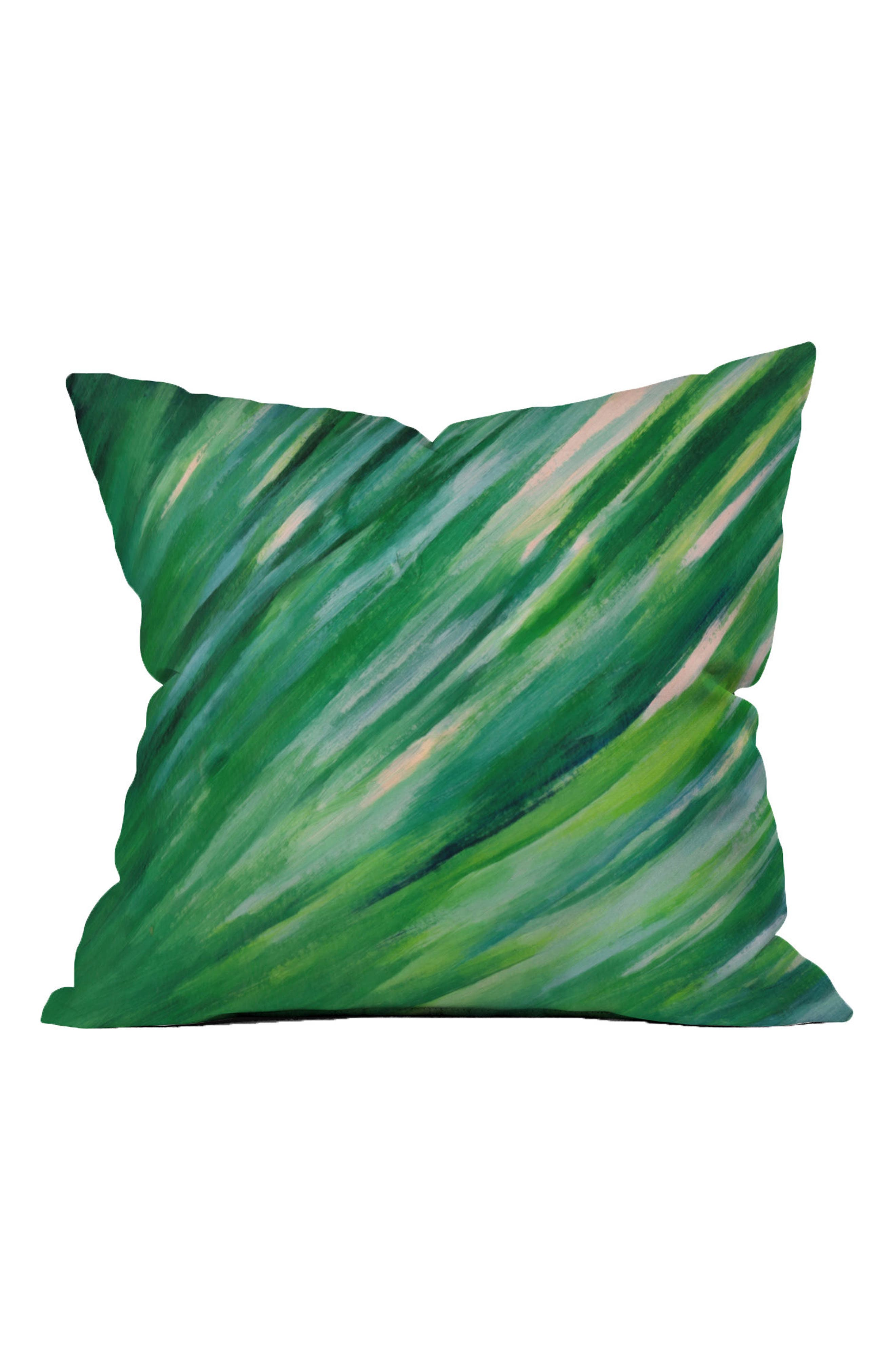 Rosie Blade Grass Accent Pillow,                             Main thumbnail 1, color,                             300